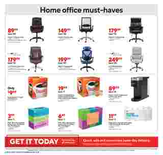 Staples - deals are valid from 02/28/21 to 03/06/21 - page 11.