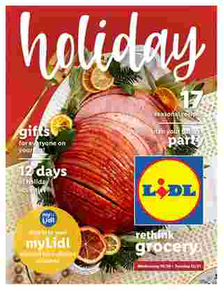 Lidl - deals are valid from 10/30/19 to 12/31/19 - page 22.