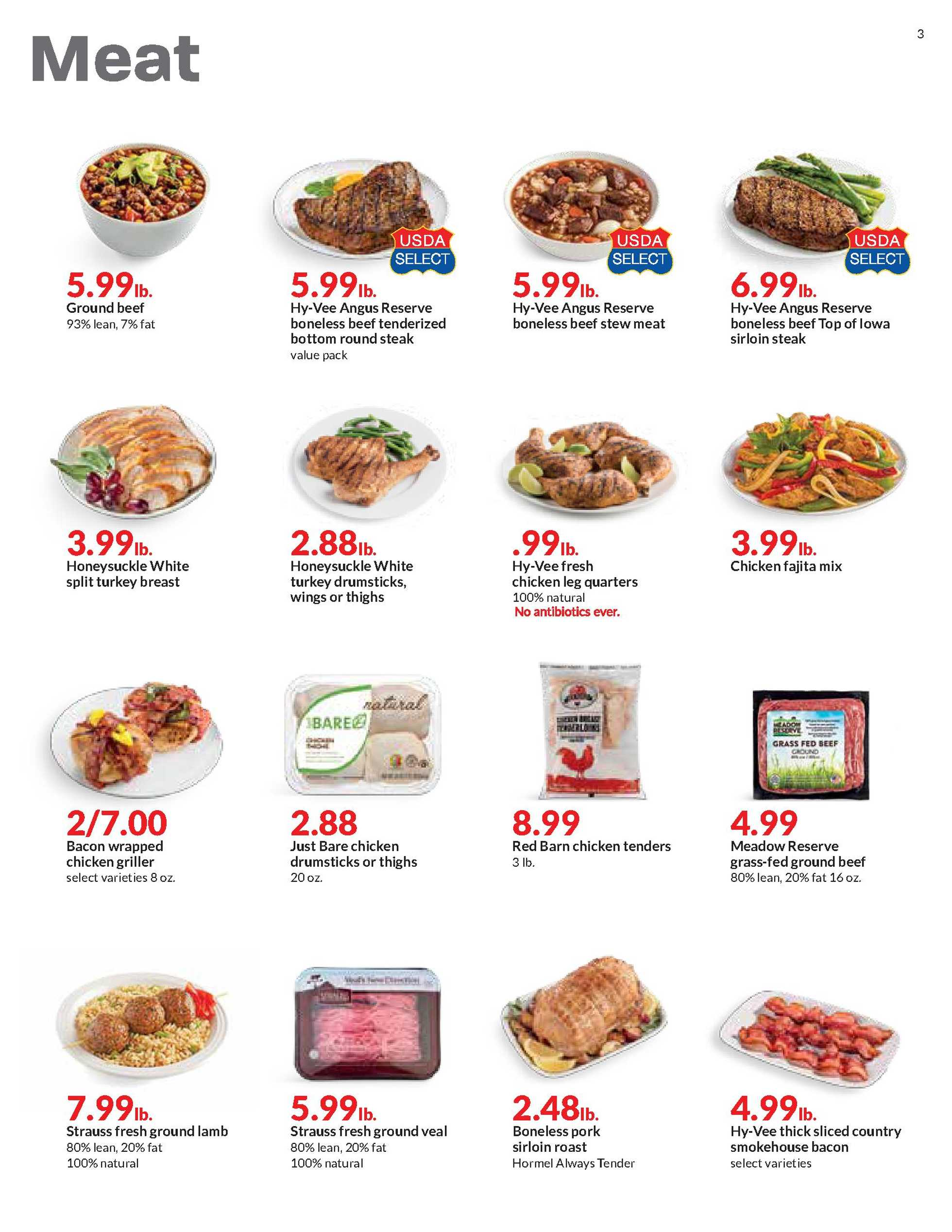 Hy-Vee - deals are valid from 01/20/21 to 01/26/21 - page 3.