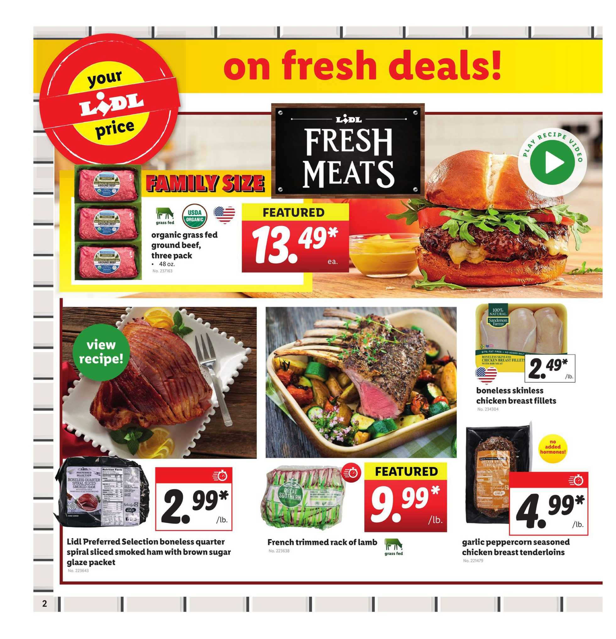 Lidl - deals are valid from 04/01/20 to 04/07/20 - page 2.