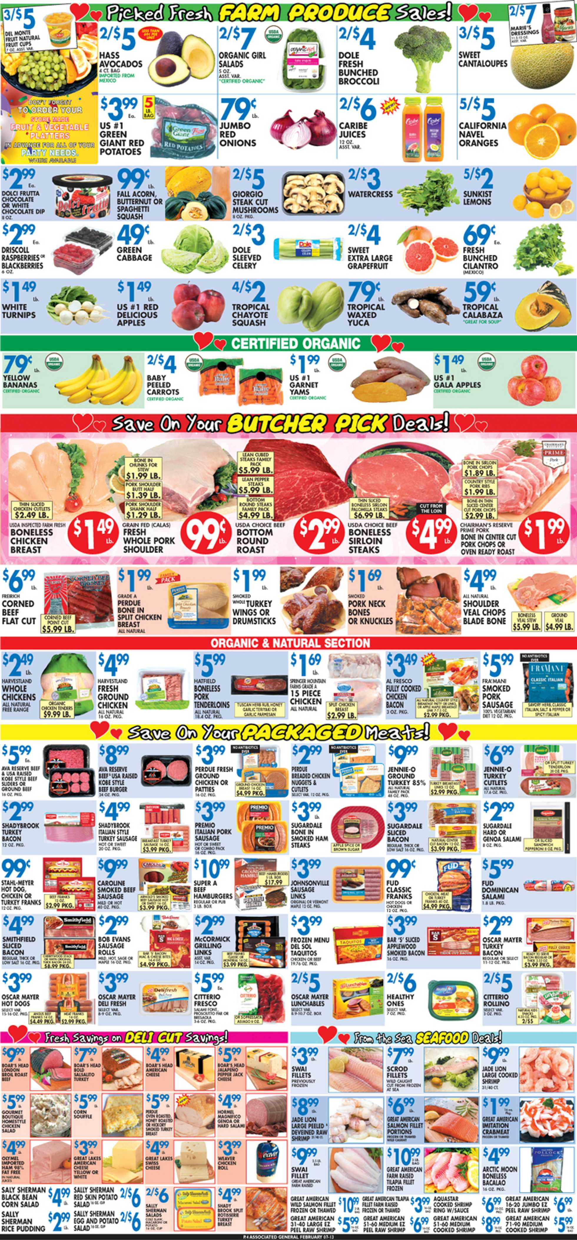 Associated Supermarkets - deals are valid from 02/07/20 to 02/13/20 - page 4.