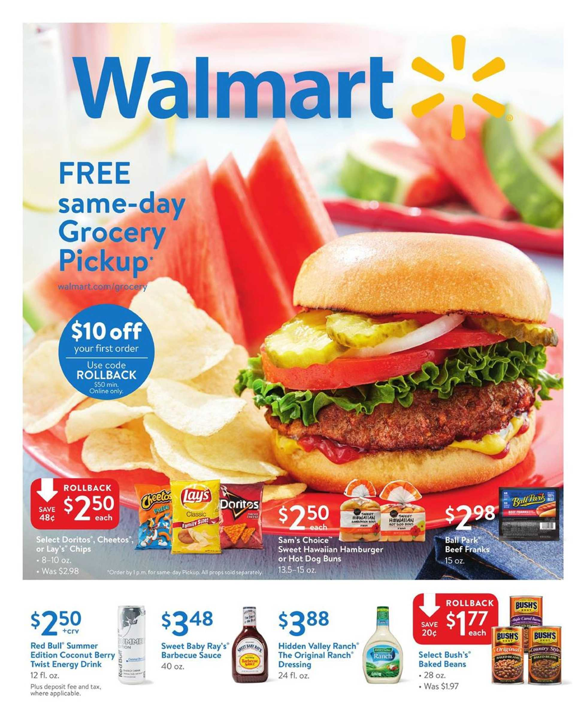 Walmart - deals are valid from 06/18/18 to 06/30/18 - page 1.