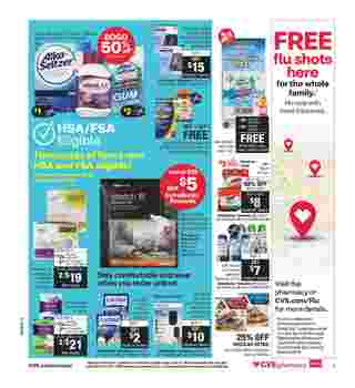 CVS - deals are valid from 10/04/20 to 10/10/20 - page 13.