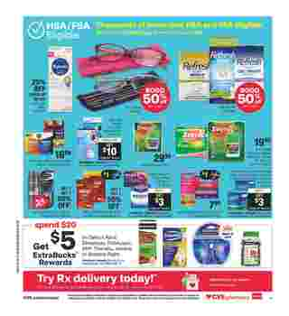 CVS - deals are valid from 10/04/20 to 10/10/20 - page 16.