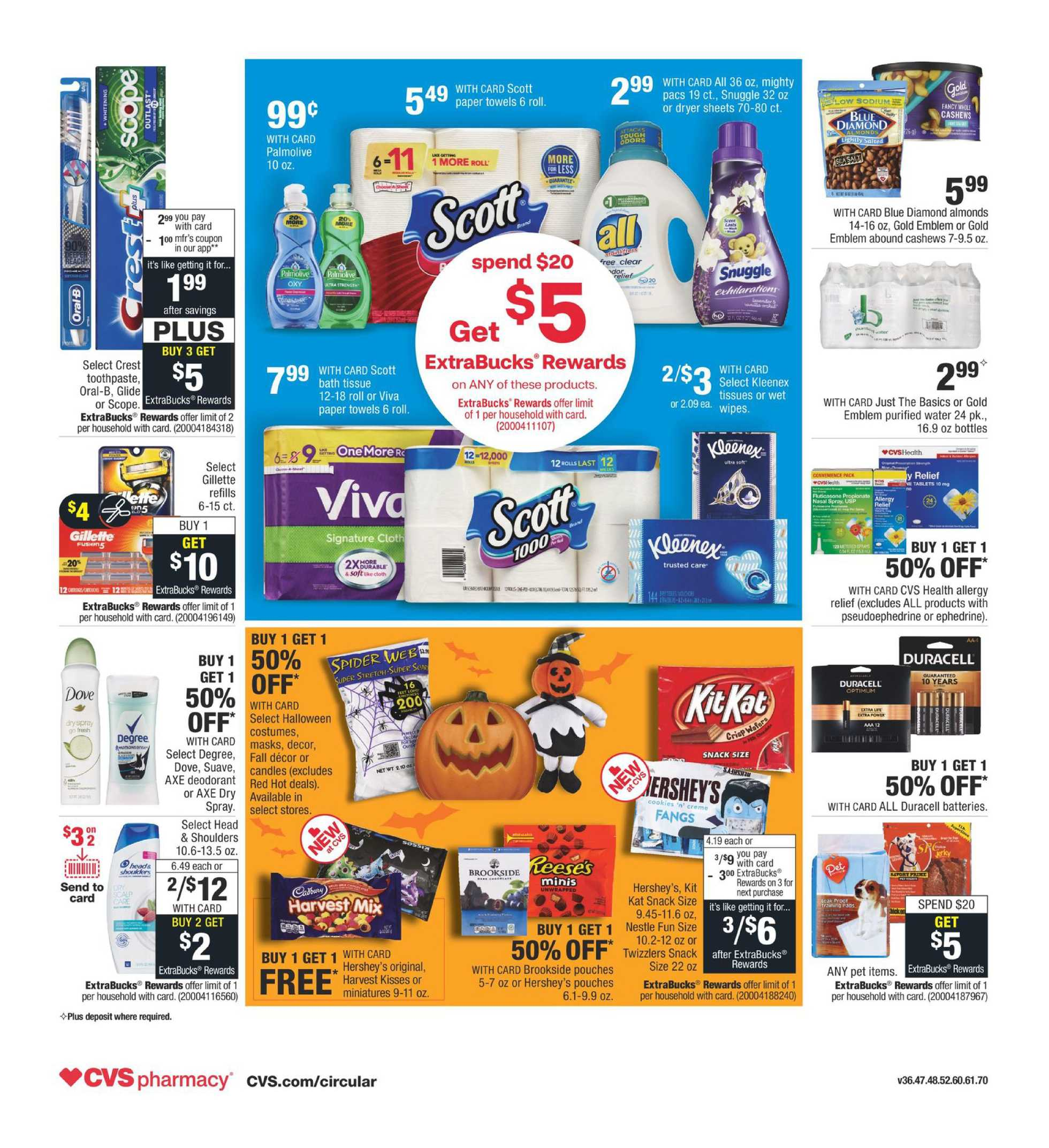 CVS - deals are valid from 10/04/20 to 10/10/20 - page 2.