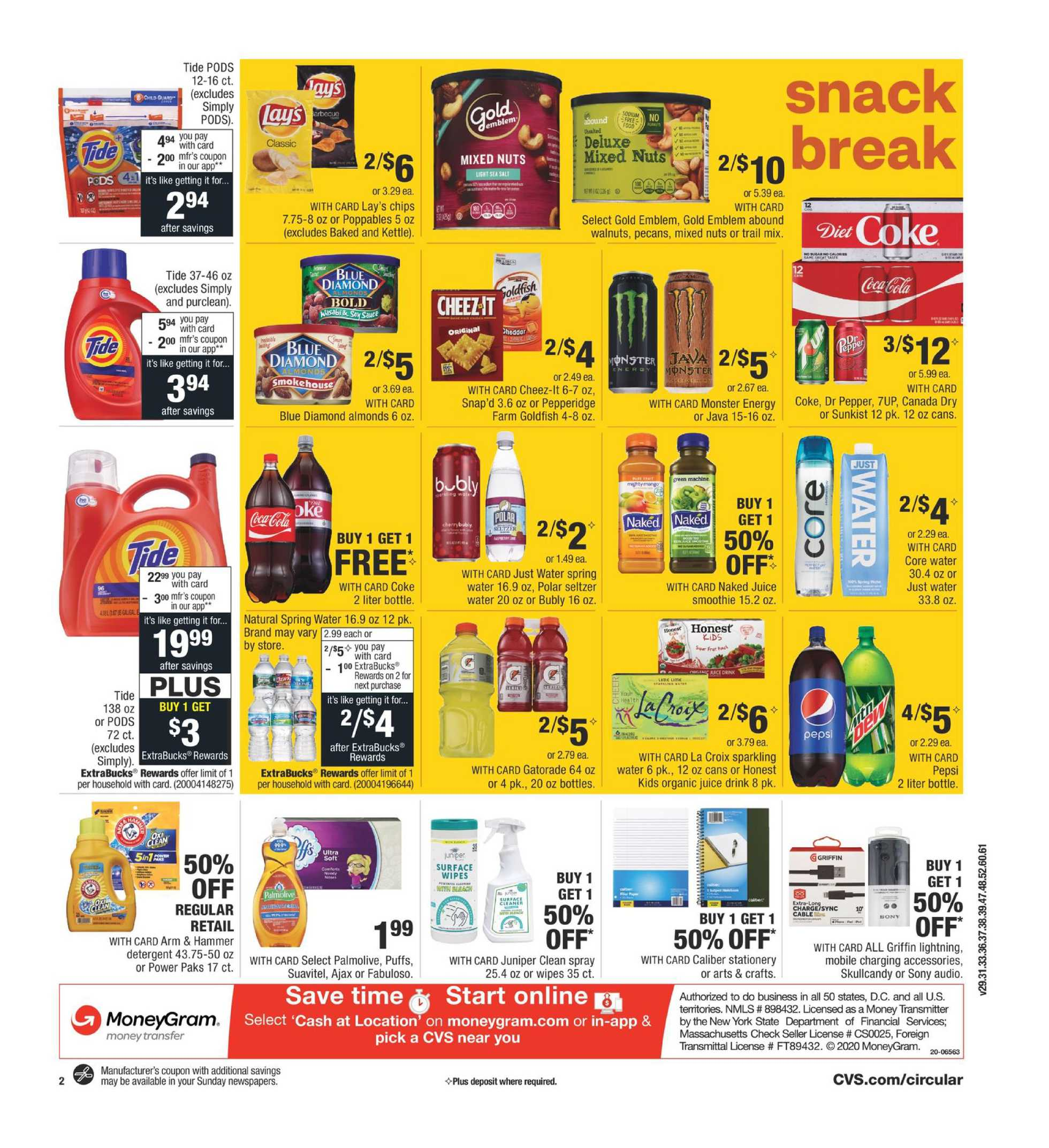 CVS - deals are valid from 10/04/20 to 10/10/20 - page 3.