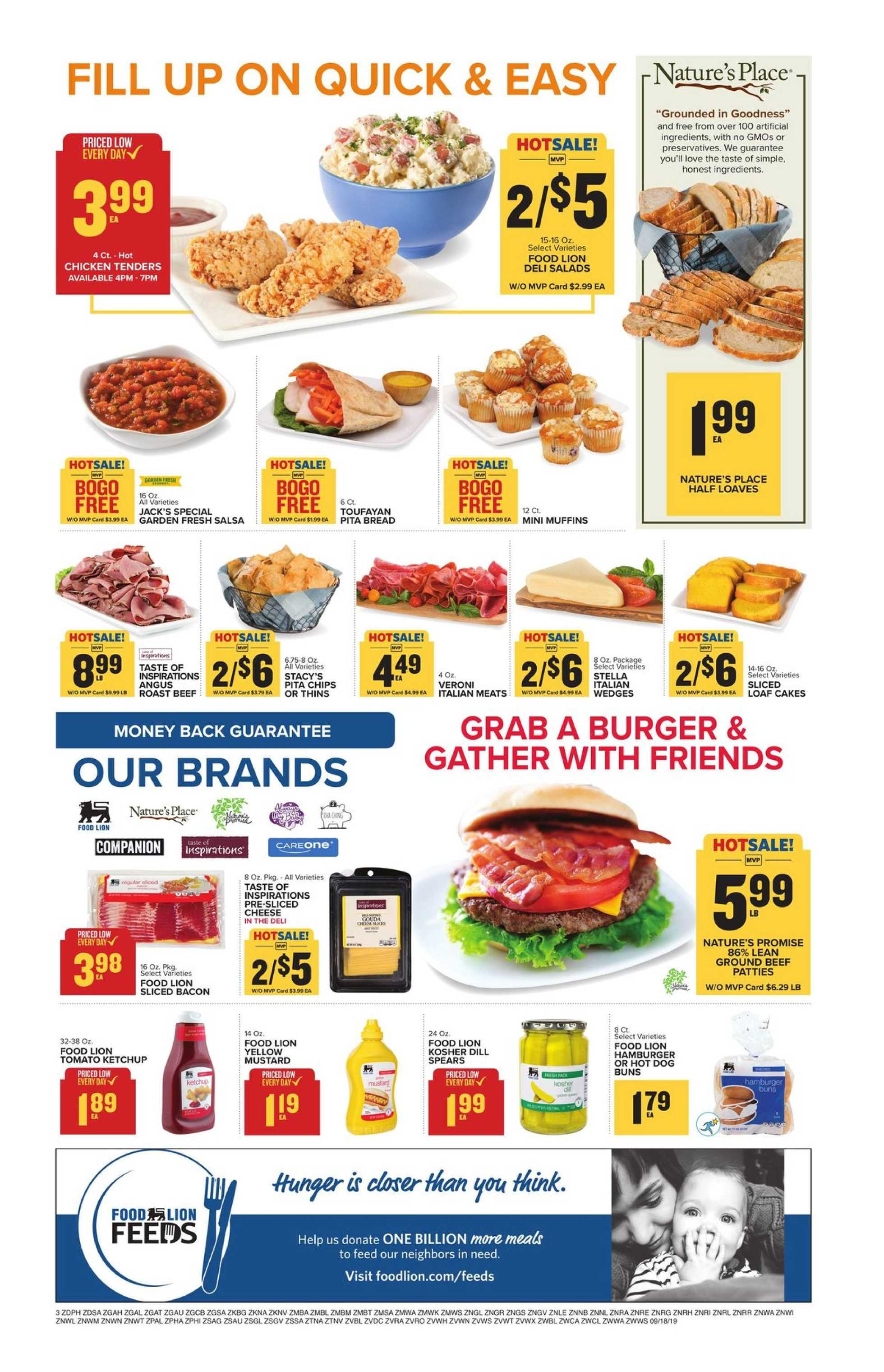 Food Lion - deals are valid from 09/18/19 to 09/24/19 - page 4.