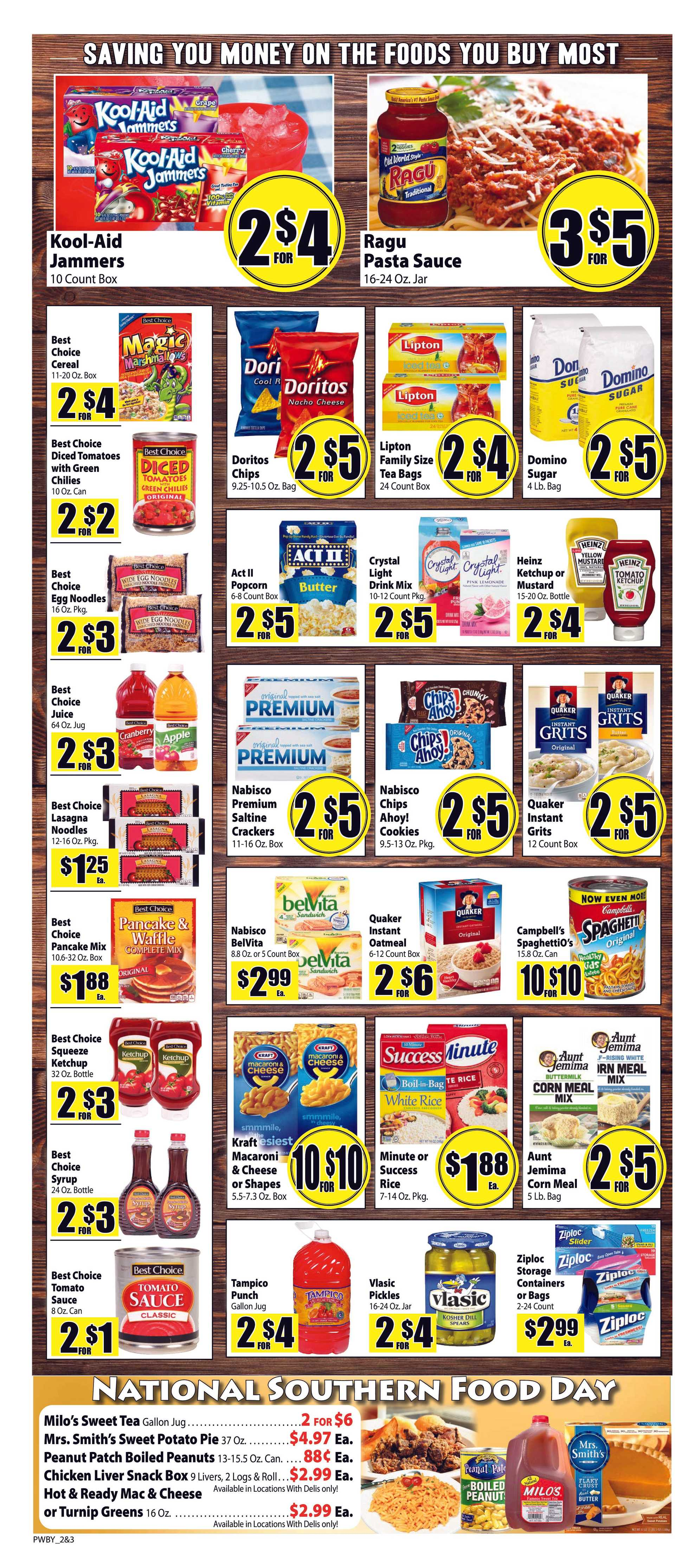 Food Giant - promo starting from 01/22/20 to 01/28/20 - page 2.