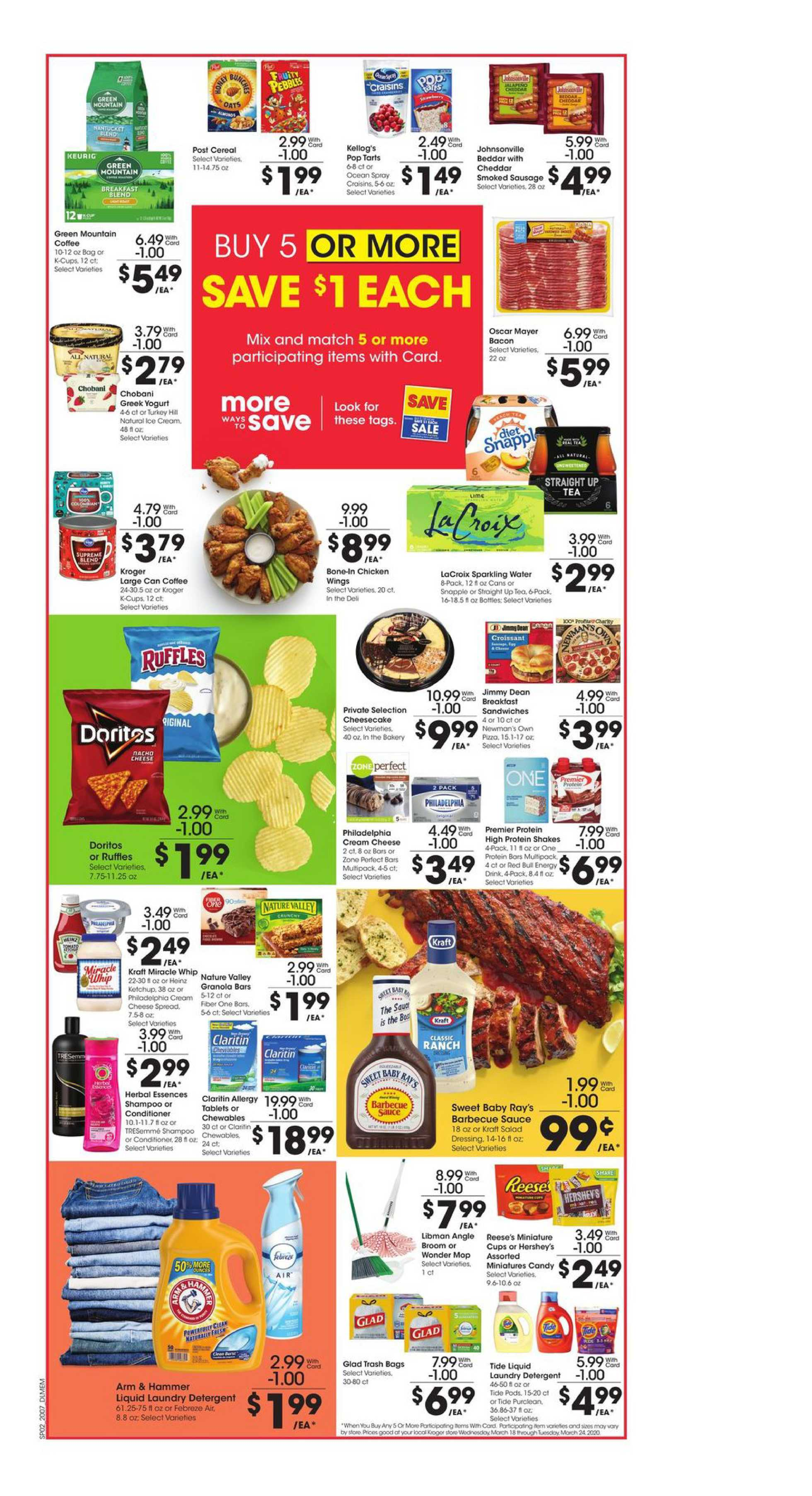 Kroger - deals are valid from 03/18/20 to 03/24/20 - page 3.