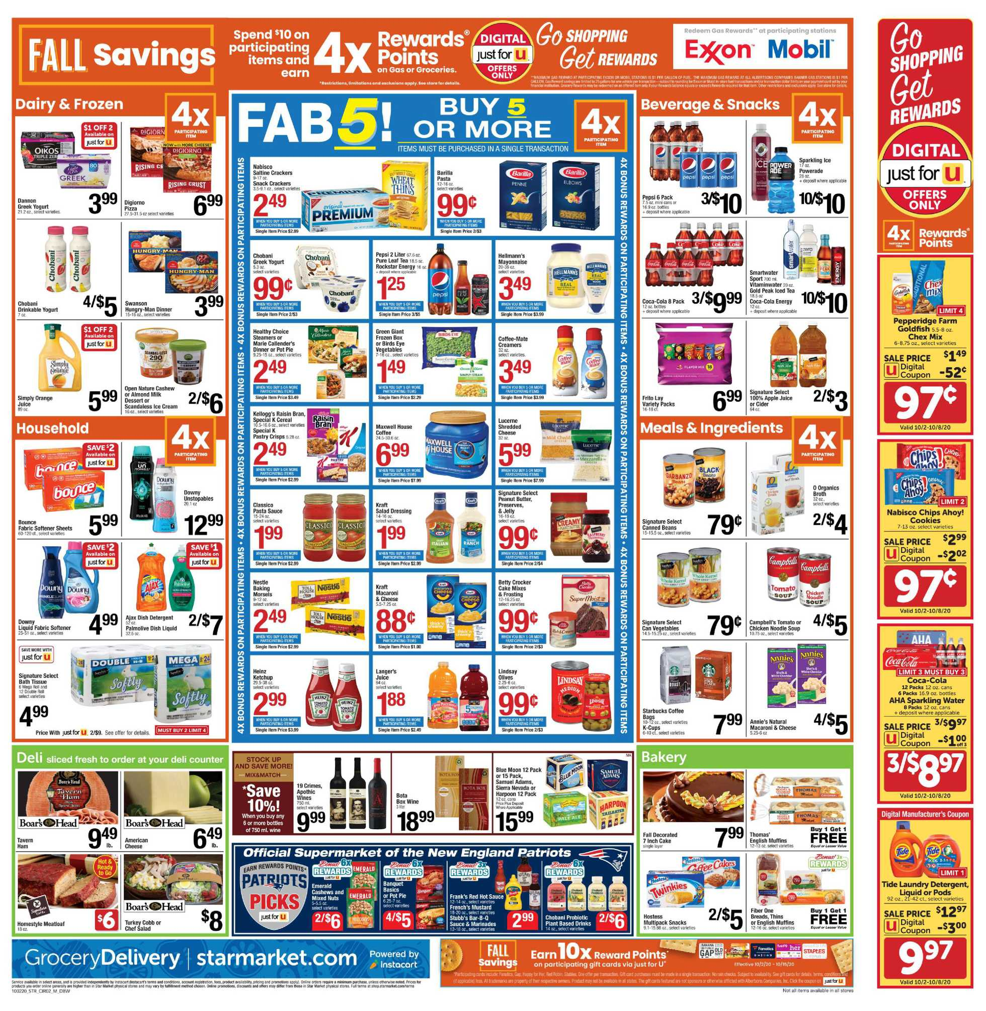 Star Market - deals are valid from 10/02/20 to 10/08/20 - page 2.