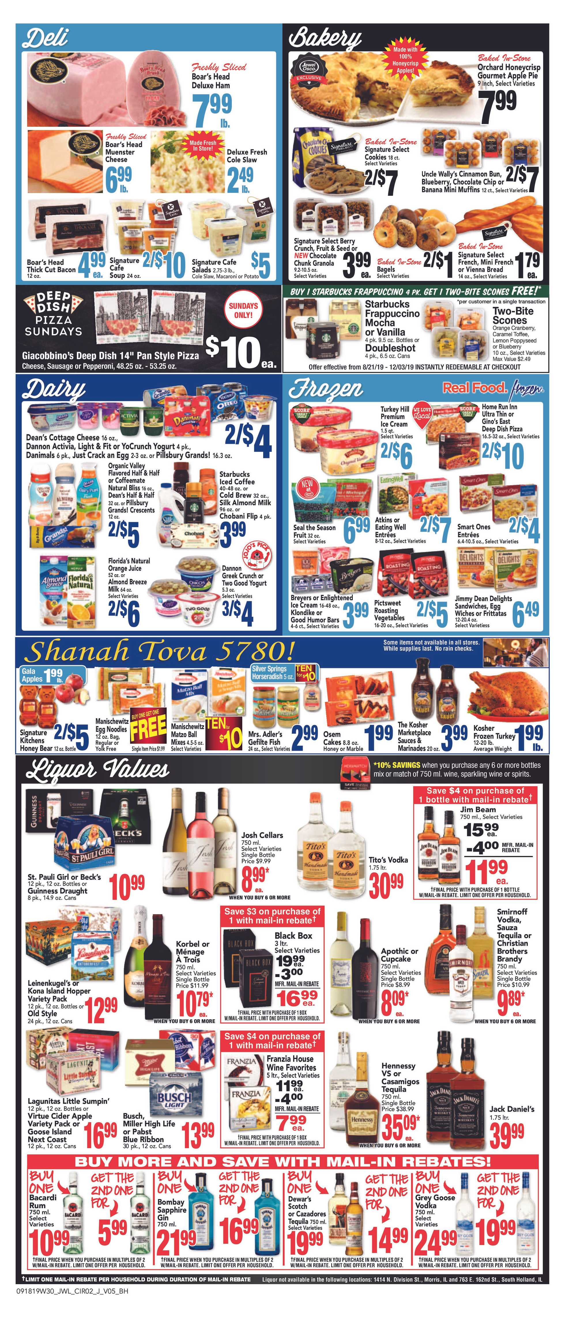 Jewel Osco - deals are valid from 09/18/19 to 09/24/19 - page 2.
