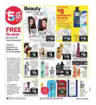 CVS - deals are valid from 10/25/20 to 10/31/20 - page 12.