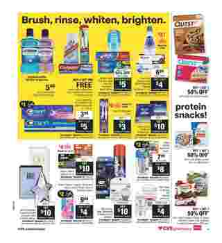 CVS - deals are valid from 10/25/20 to 10/31/20 - page 14.