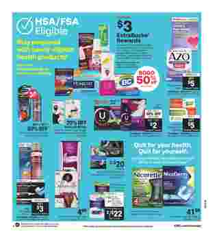 CVS - deals are valid from 10/25/20 to 10/31/20 - page 19.