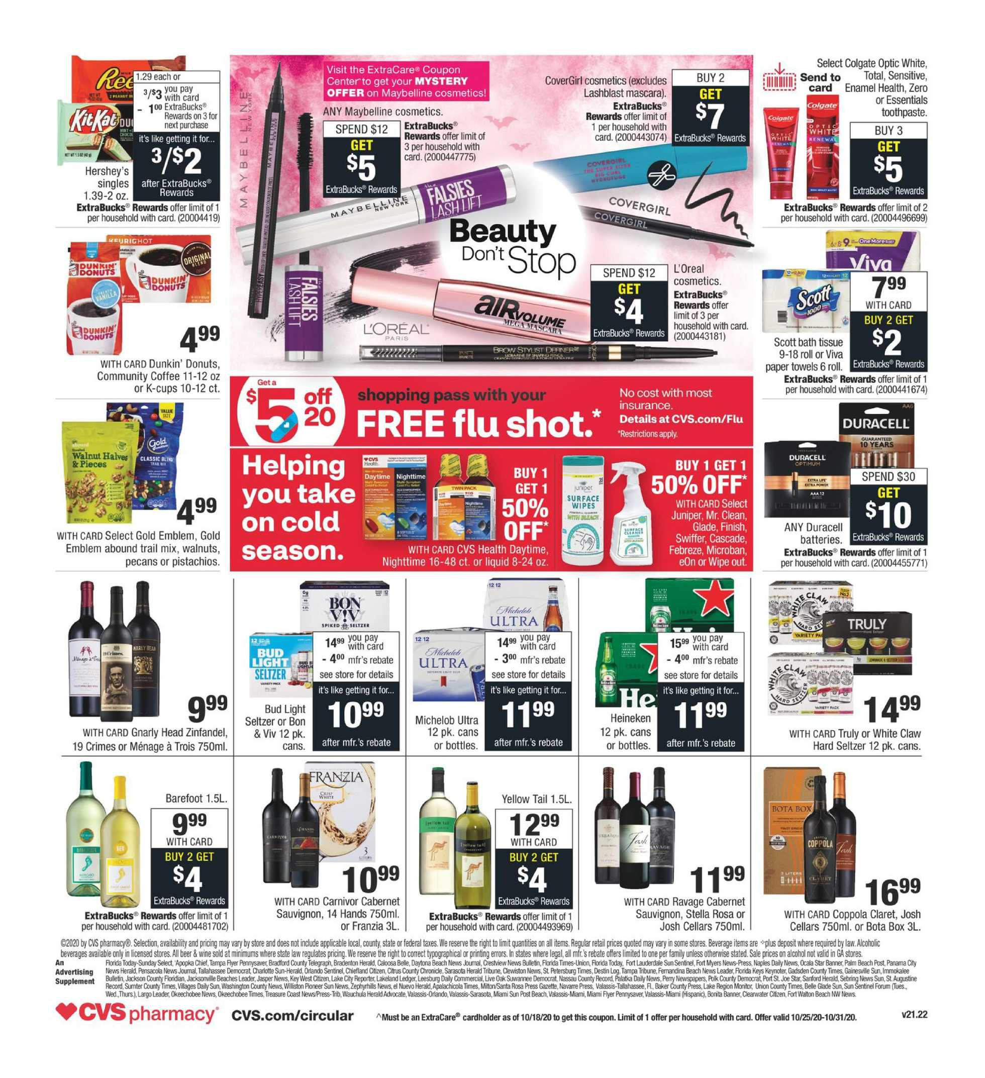 CVS - deals are valid from 10/25/20 to 10/31/20 - page 2.