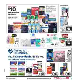CVS - deals are valid from 10/25/20 to 10/31/20 - page 20.