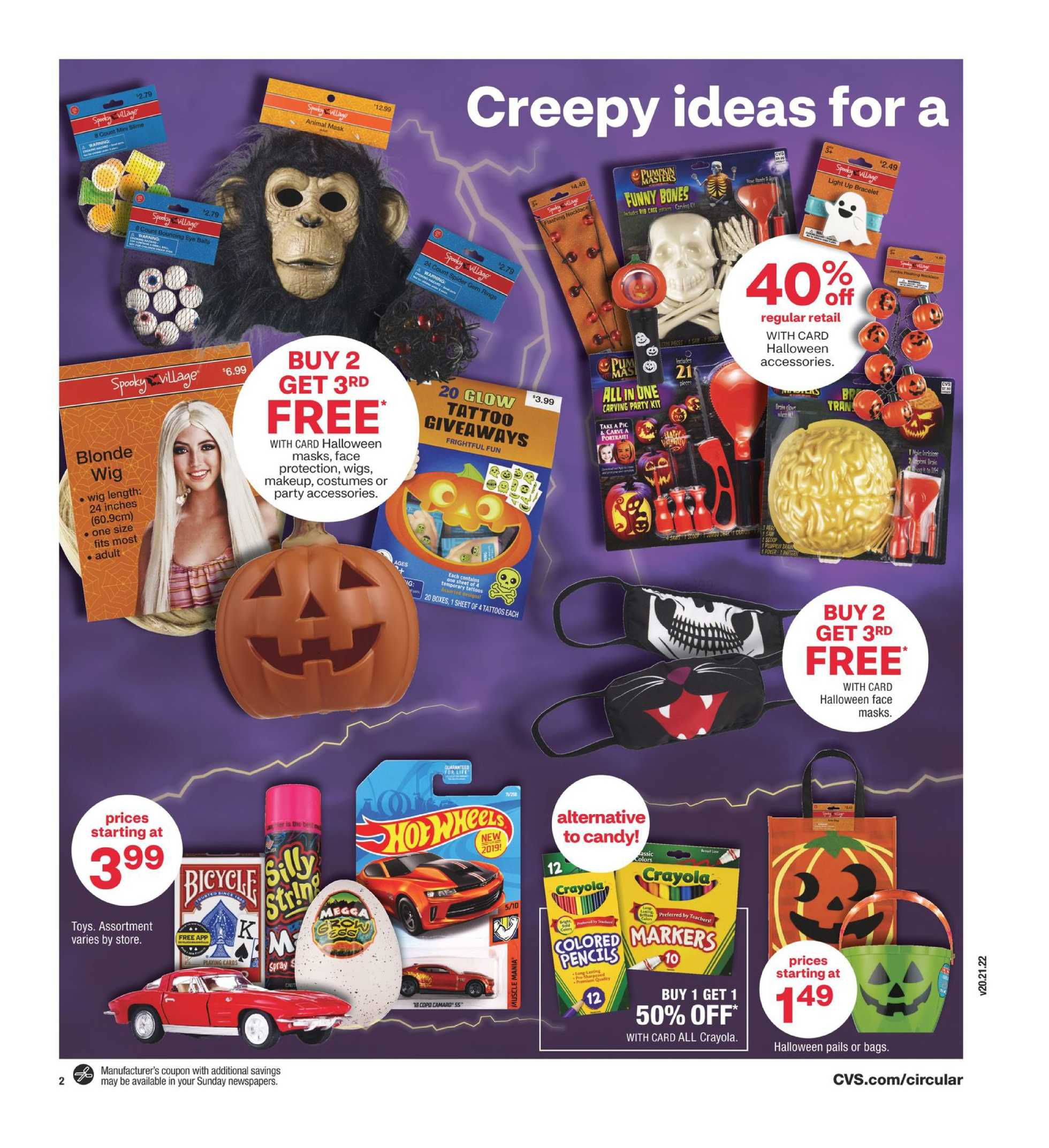 CVS - deals are valid from 10/25/20 to 10/31/20 - page 3.