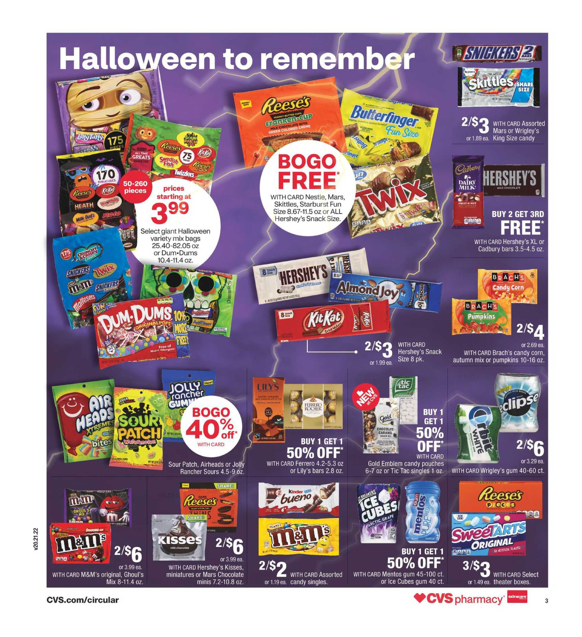 CVS - deals are valid from 10/25/20 to 10/31/20 - page 4.