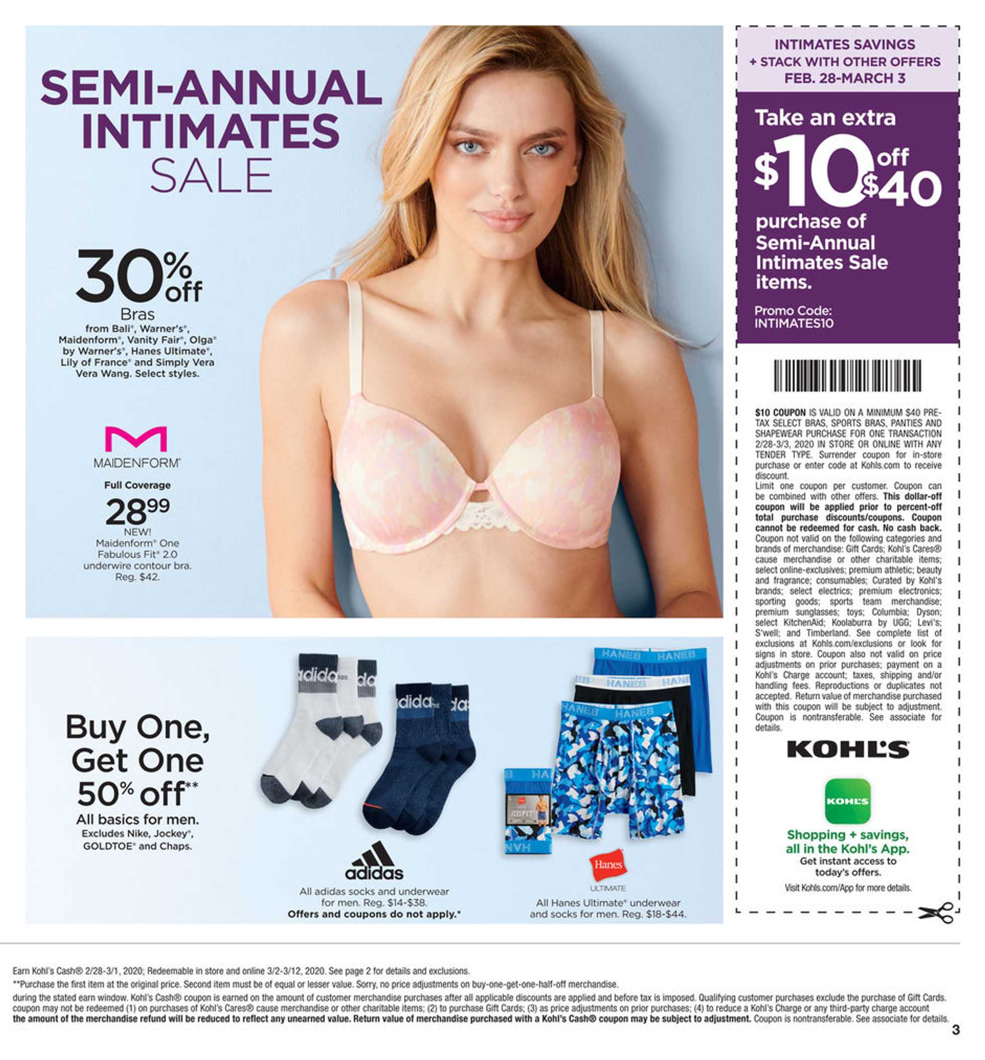 Kohl's - deals are valid from 01/28/20 to 03/03/20 - page 3.