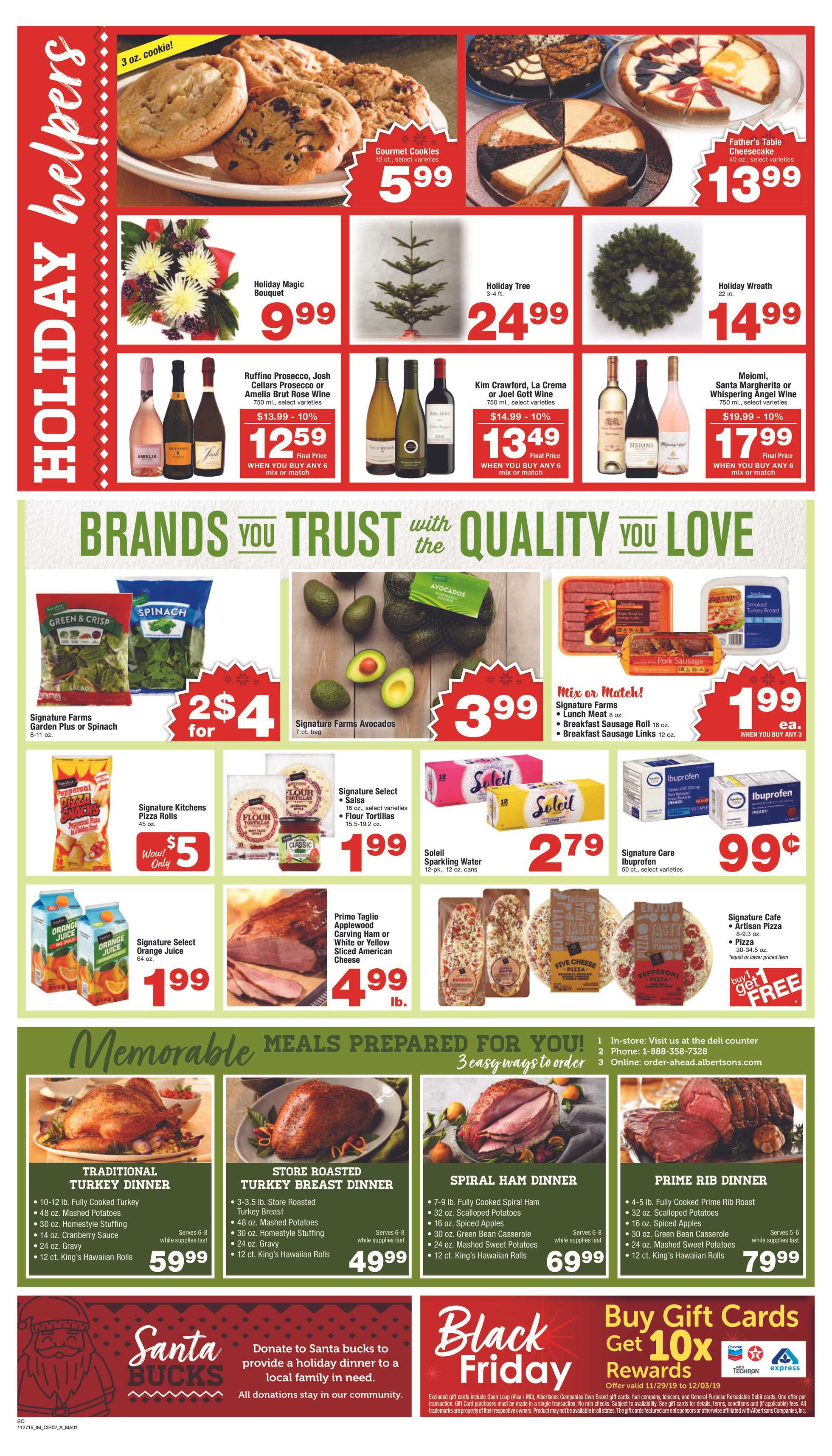 Albertsons - deals are valid from 11/29/19 to 12/03/19 - page 4.