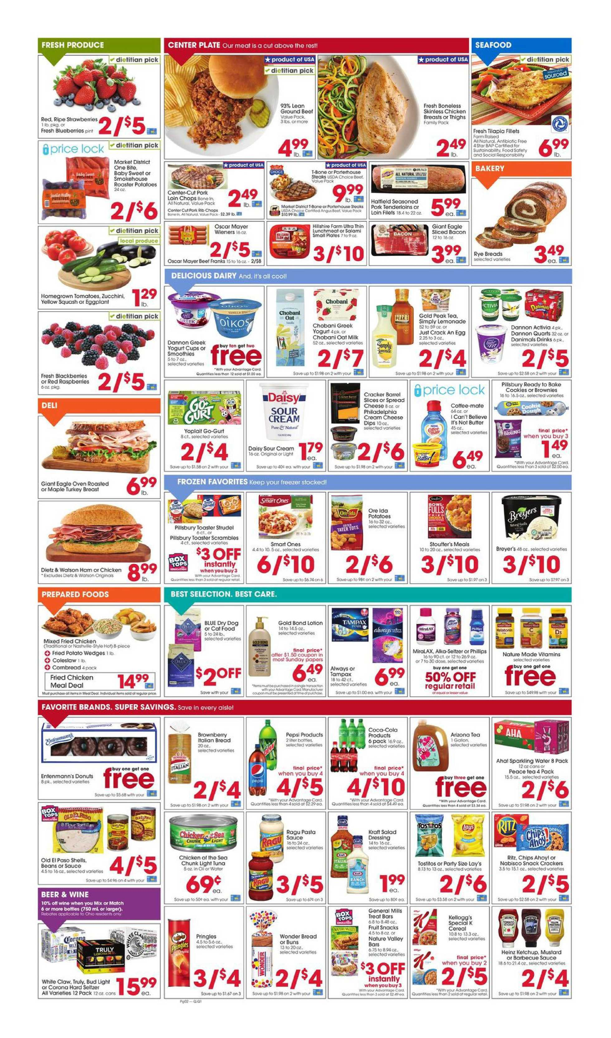 Giant Eagle - deals are valid from 08/27/20 to 09/02/20 - page 2.