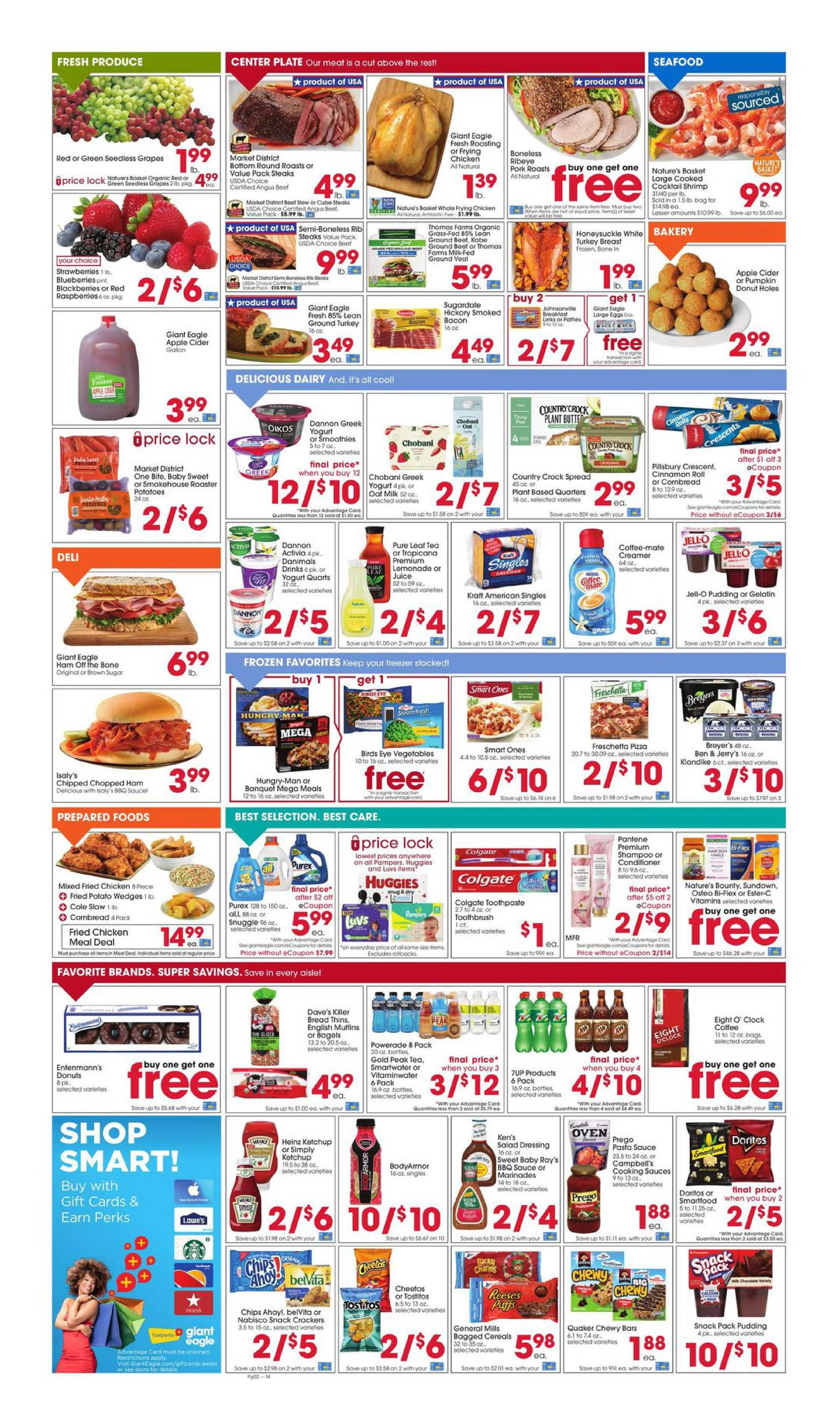 Giant Eagle - deals are valid from 10/01/20 to 10/07/20 - page 2.