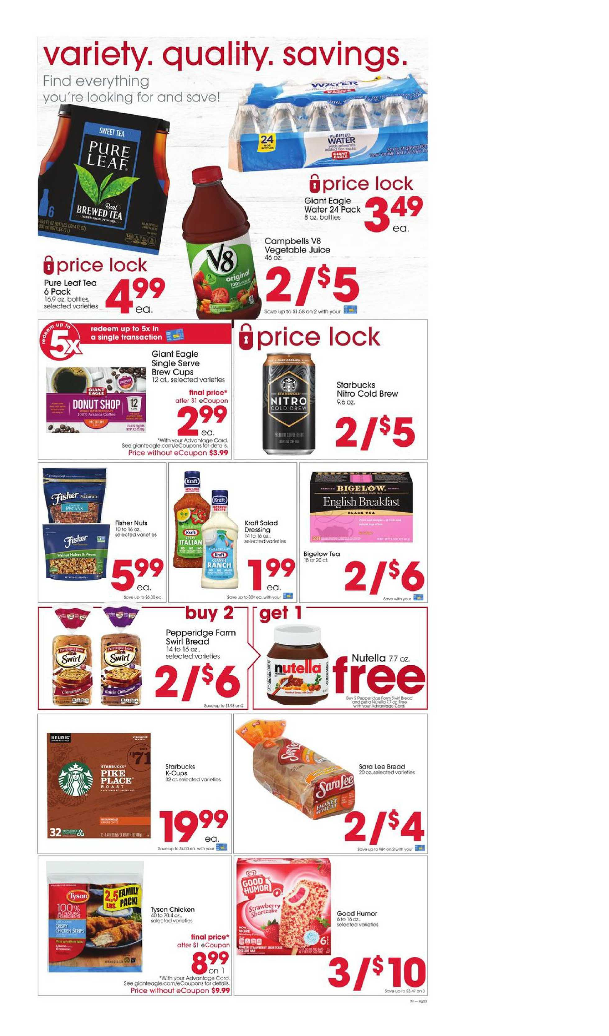 Giant Eagle - deals are valid from 10/01/20 to 10/07/20 - page 3.