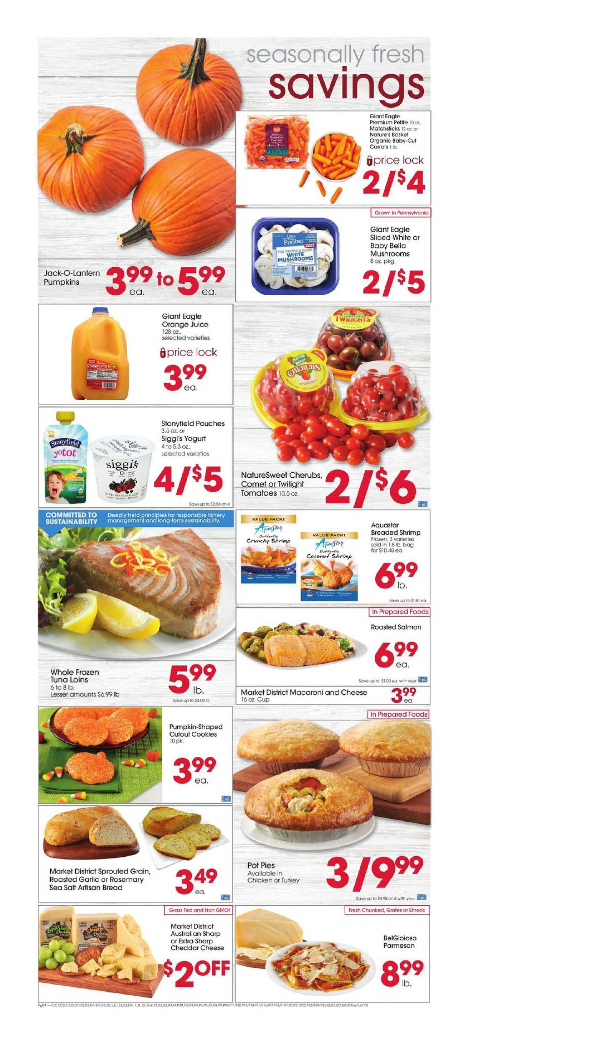 Giant Eagle - deals are valid from 10/01/20 to 10/07/20 - page 4.