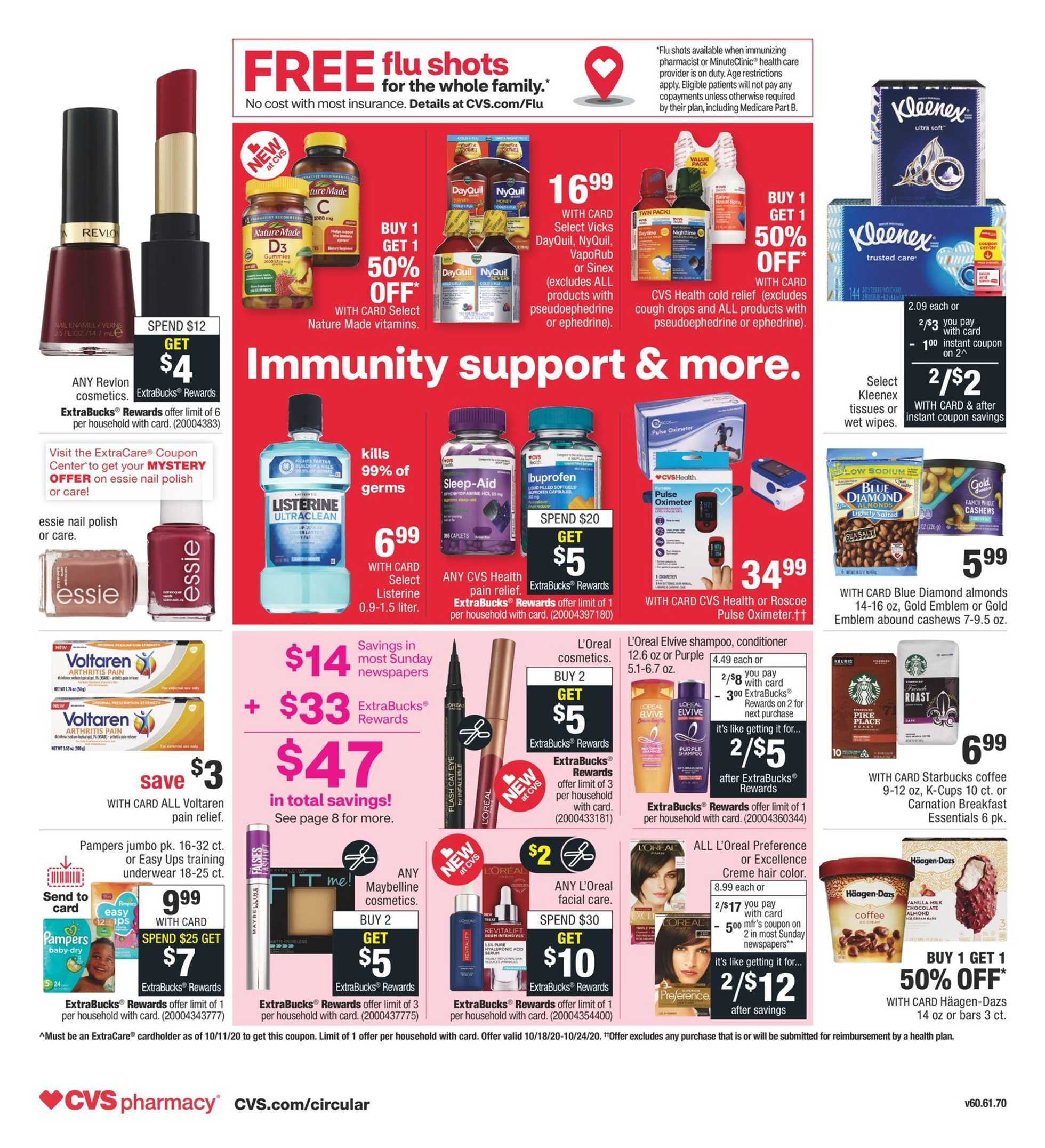 CVS - deals are valid from 10/07/20 to 10/20/20 - page 2.