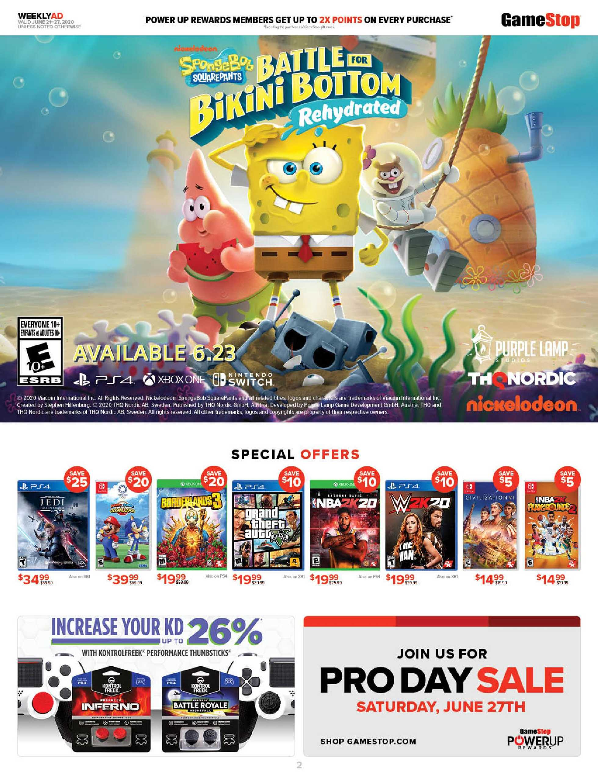 GameStop - deals are valid from 06/21/20 to 06/27/20 - page 2.