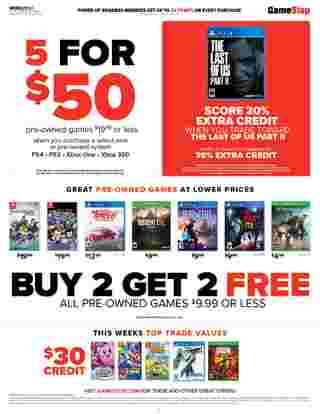 GameStop - deals are valid from 06/21/20 to 06/27/20 - page 6.