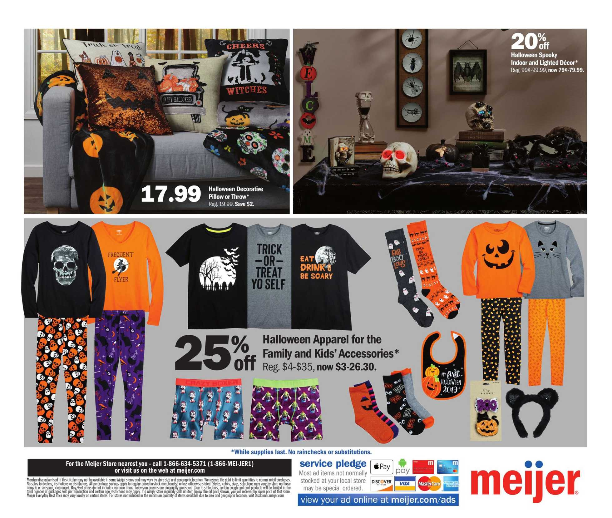 Meijer - deals are valid from 10/13/19 to 10/19/19 - page 4.