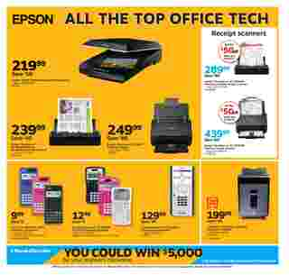 Staples - deals are valid from 08/02/20 to 08/08/20 - page 8.