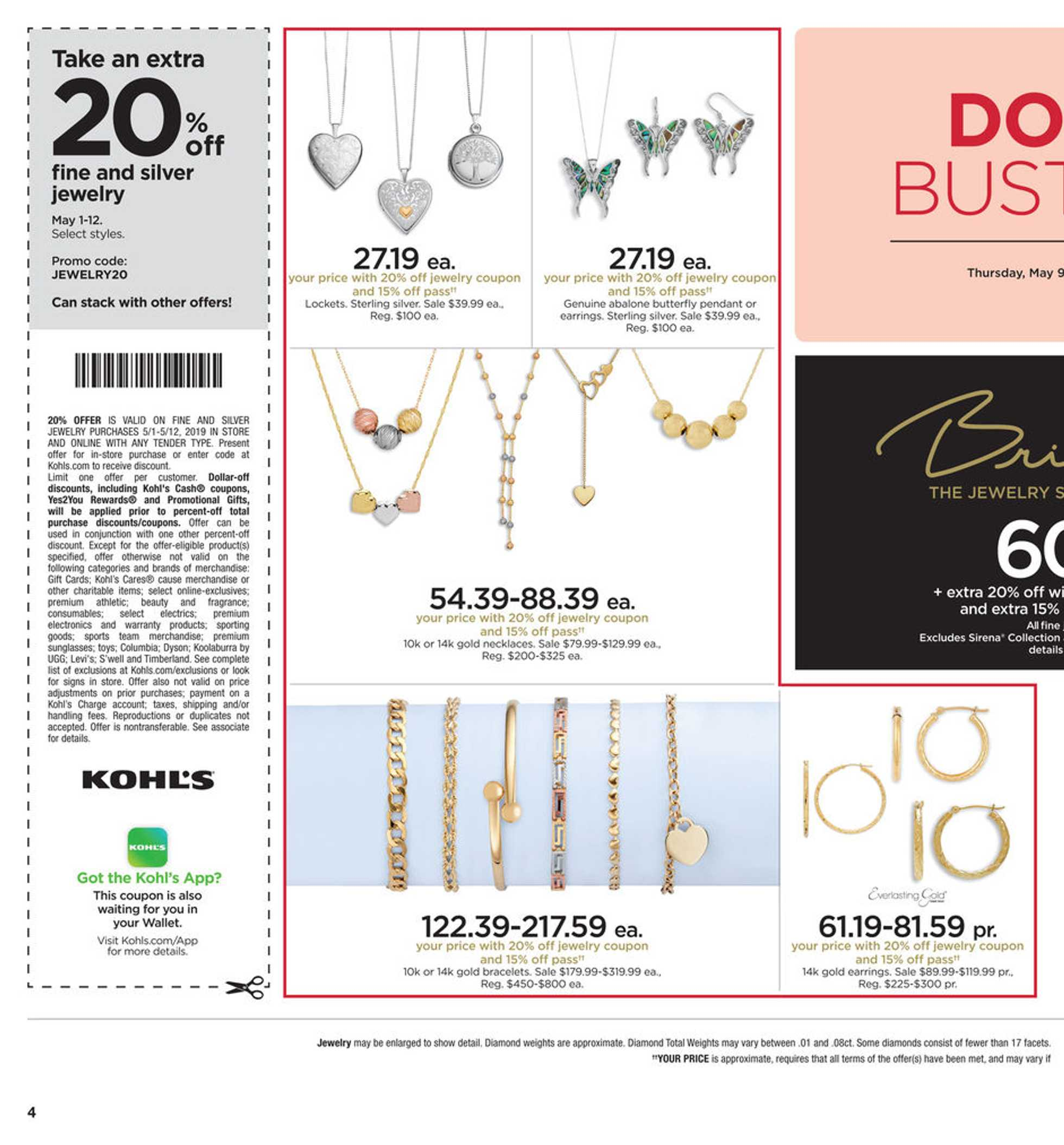 Kohl's - deals are valid from 05/09/19 to 05/19/19 - page 4.