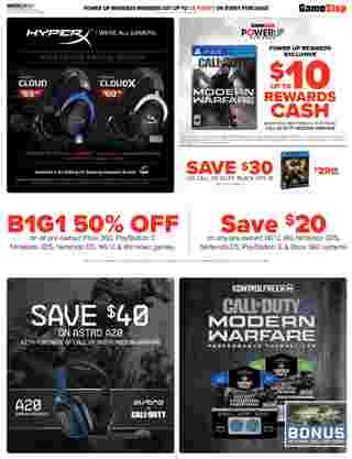 GameStop - deals are valid from 10/06/19 to 10/12/19 - page 5.