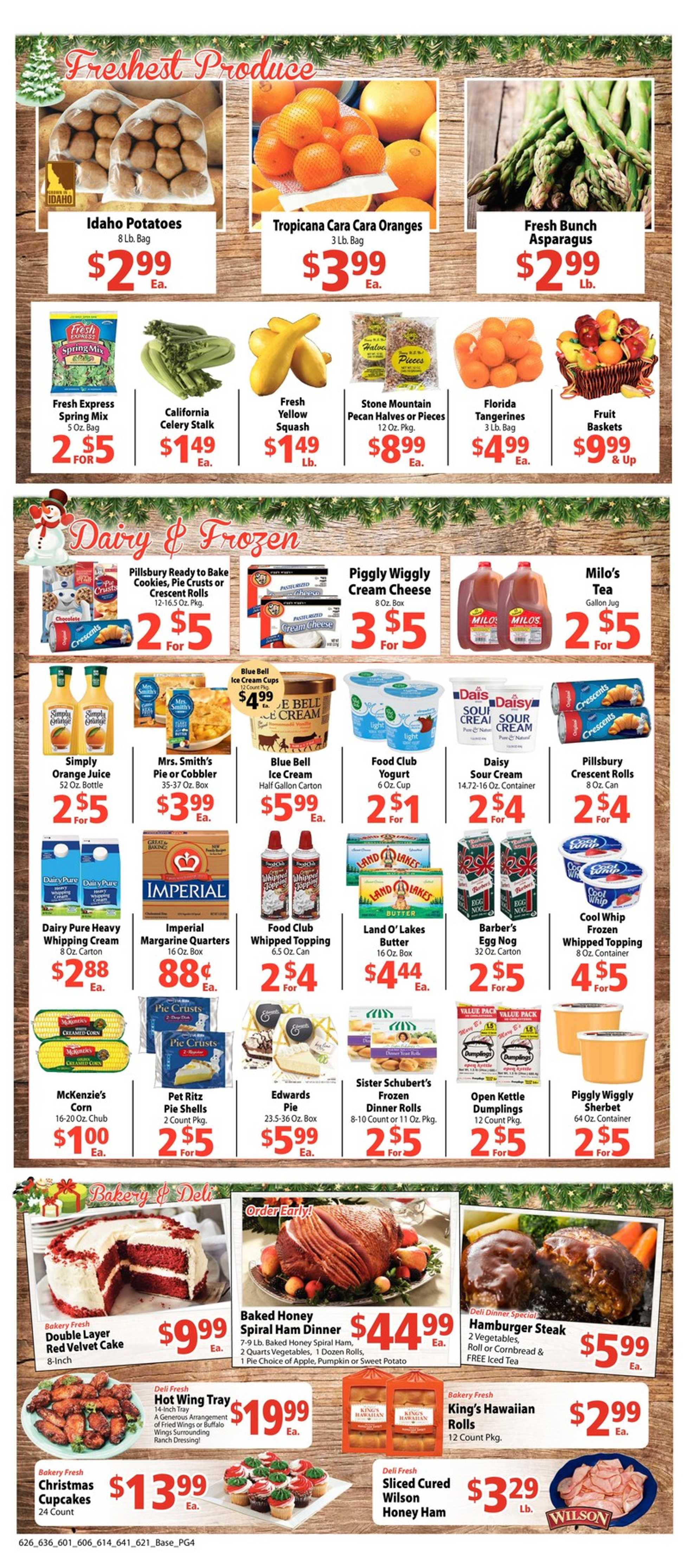 Piggly Wiggly - deals are valid from 12/18/19 to 12/24/19 - page 4.
