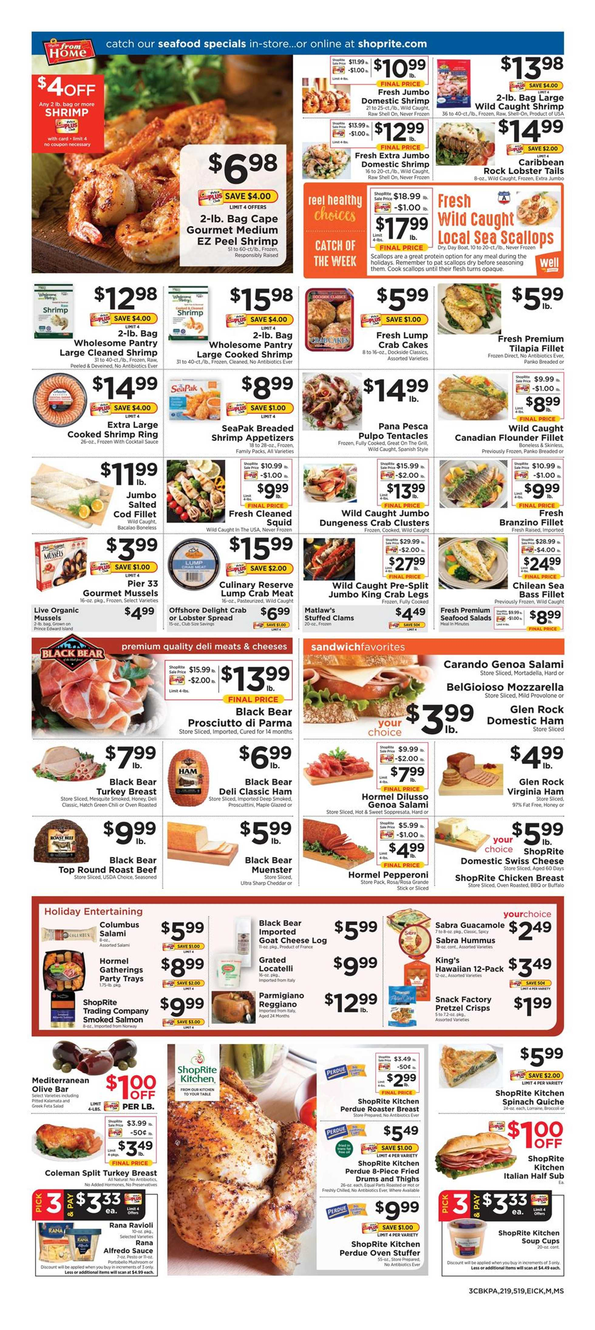ShopRite - deals are valid from 12/15/19 to 12/21/19 - page 3.