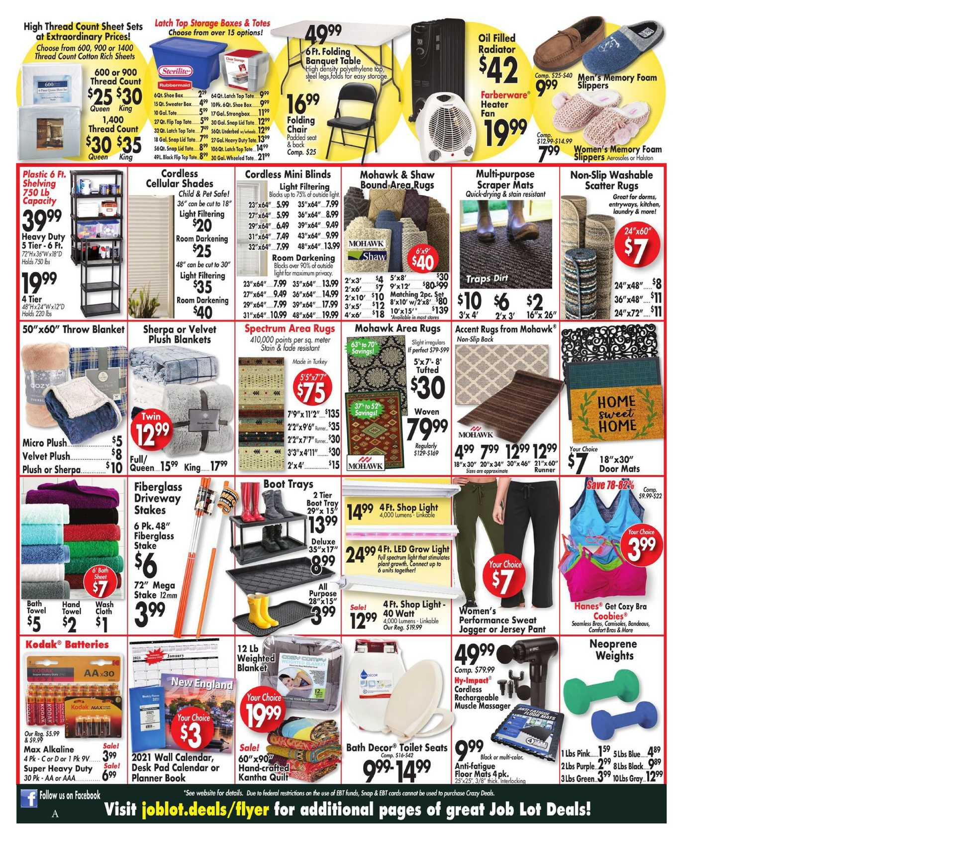 Ocean State Job Lot - deals are valid from 10/01/20 to 10/07/20 - page 2.