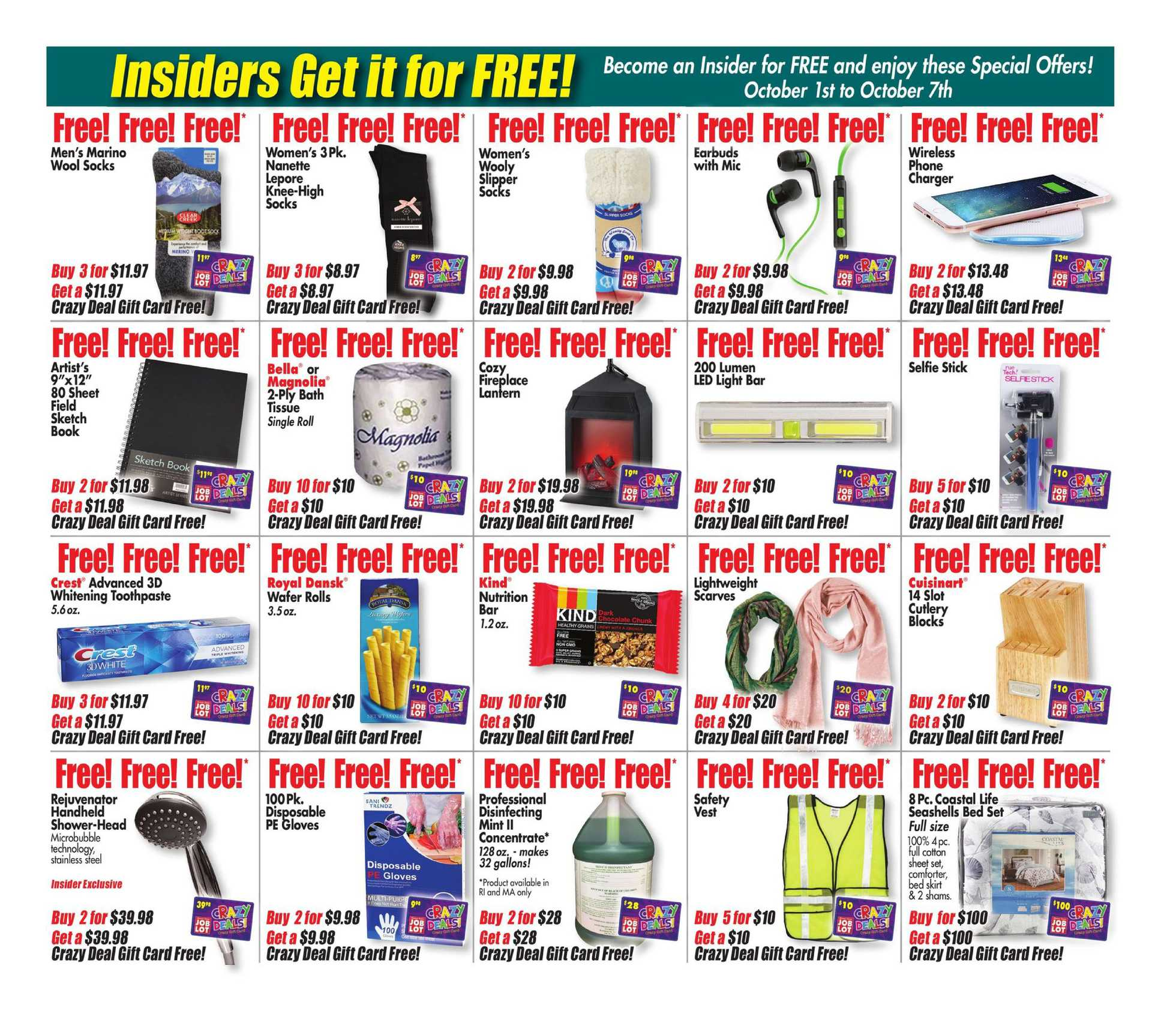 Ocean State Job Lot - deals are valid from 10/01/20 to 10/07/20 - page 3.