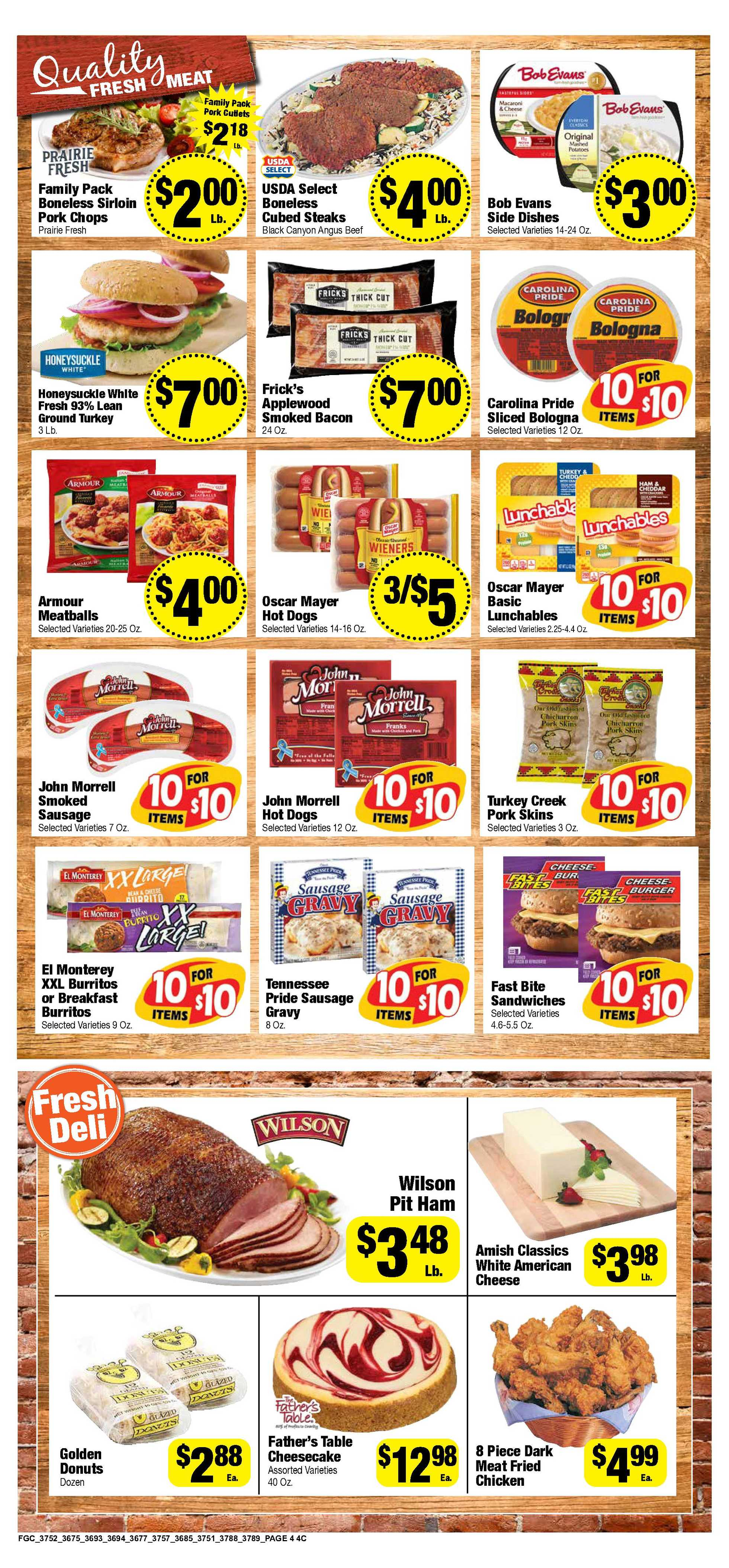Food Giant - deals are valid from 10/21/20 to 10/27/20 - page 4.