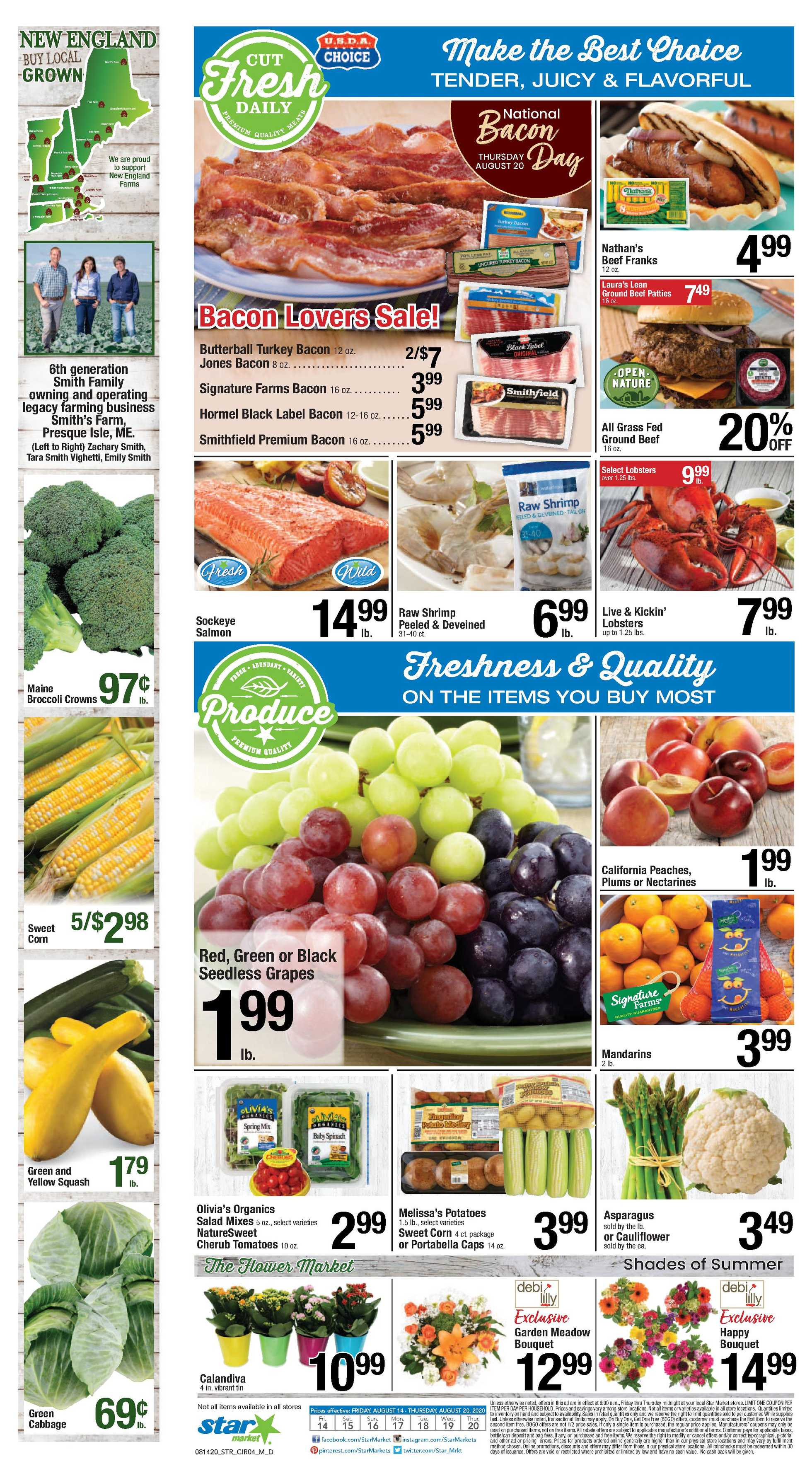 Star Market - deals are valid from 08/14/20 to 08/20/20 - page 3.