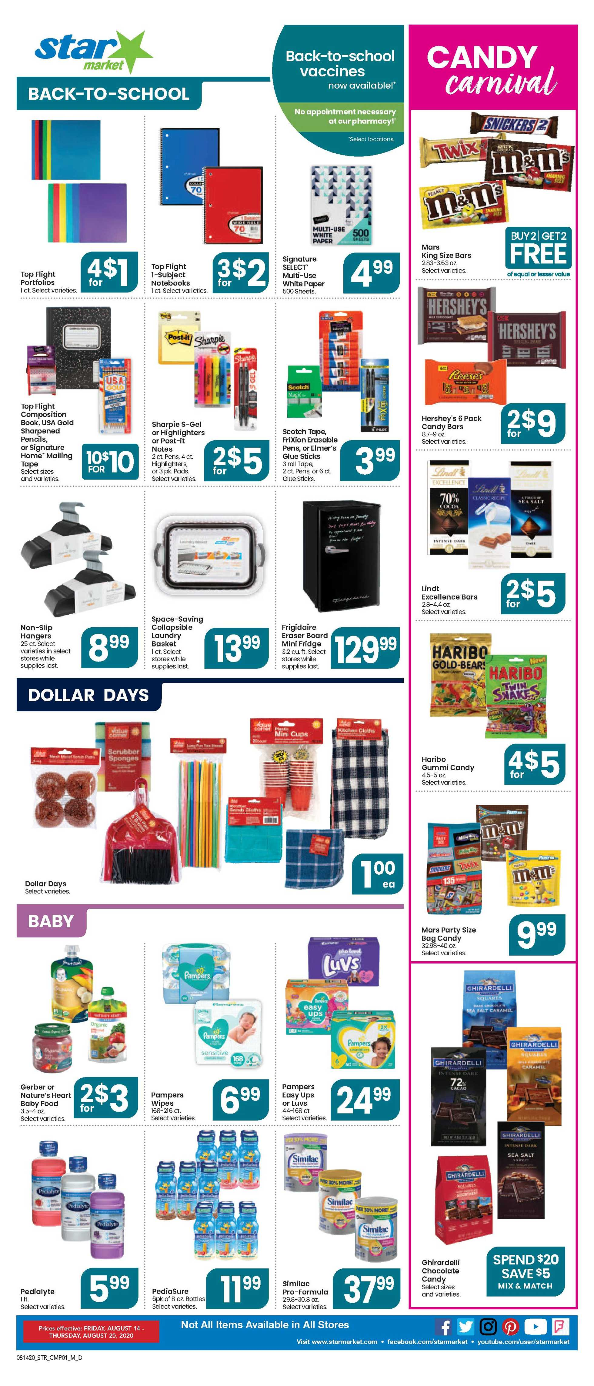 Star Market - deals are valid from 08/14/20 to 08/20/20 - page 4.