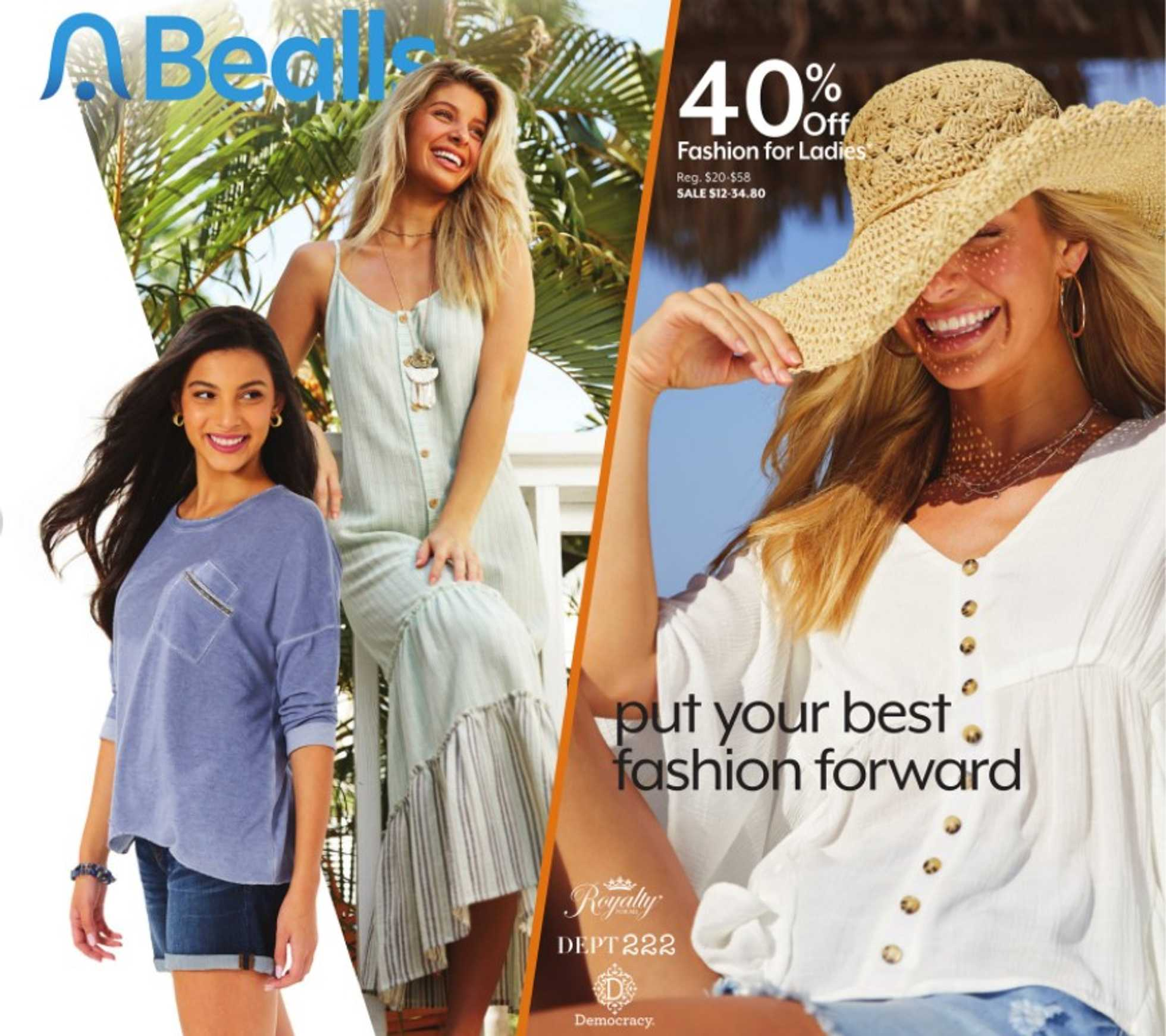 Bealls Florida - deals are valid from 10/11/20 to 10/17/20 - page 1.