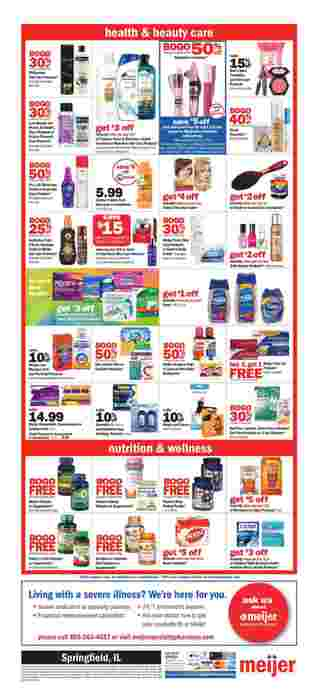 Meijer - deals are valid from 03/15/20 to 03/21/20 - page 7.