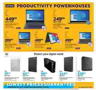 Staples - deals are valid from 08/09/20 to 08/15/20 - page 7.
