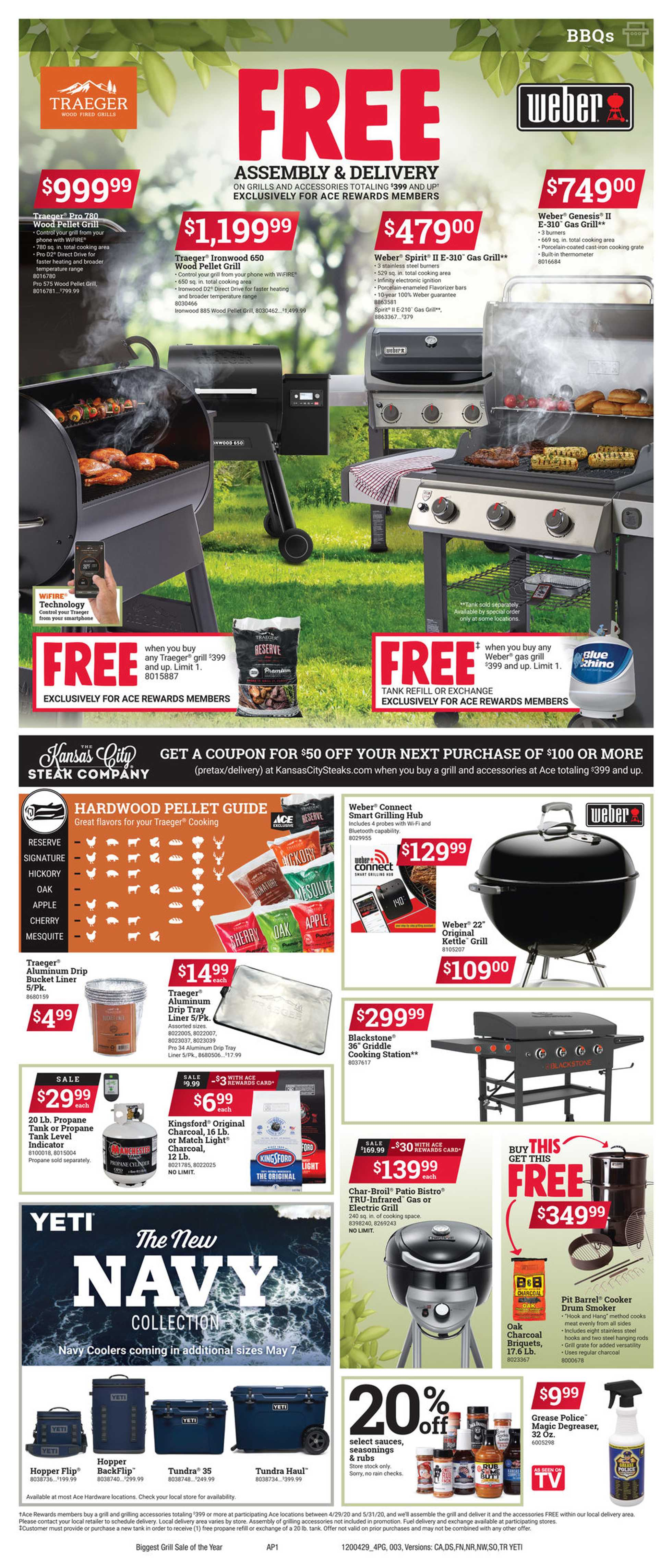 ACE Hardware - deals are valid from 04/29/20 to 04/29/20 - page 3.