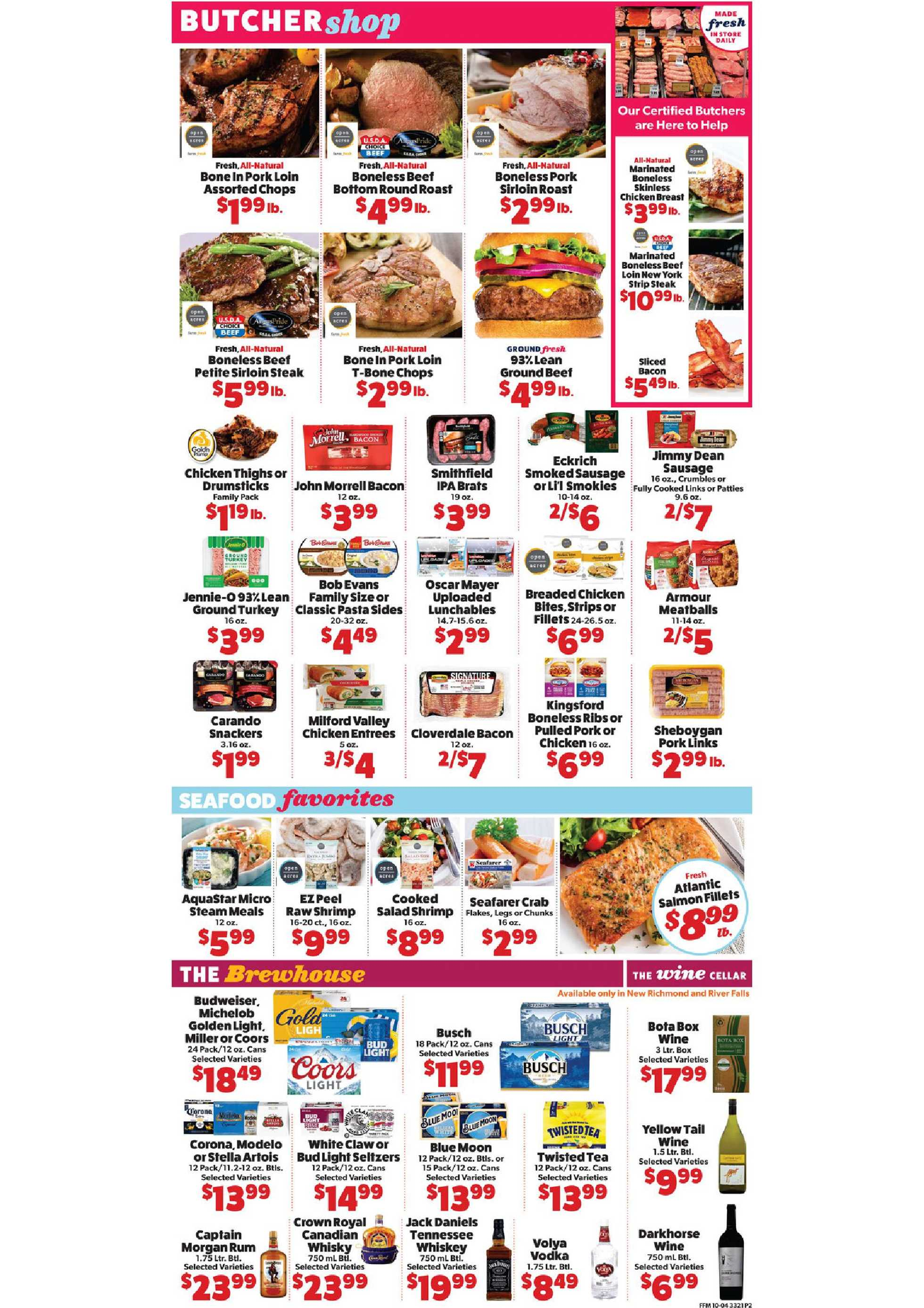 Family Fresh Market - deals are valid from 10/04/20 to 10/10/20 - page 4.