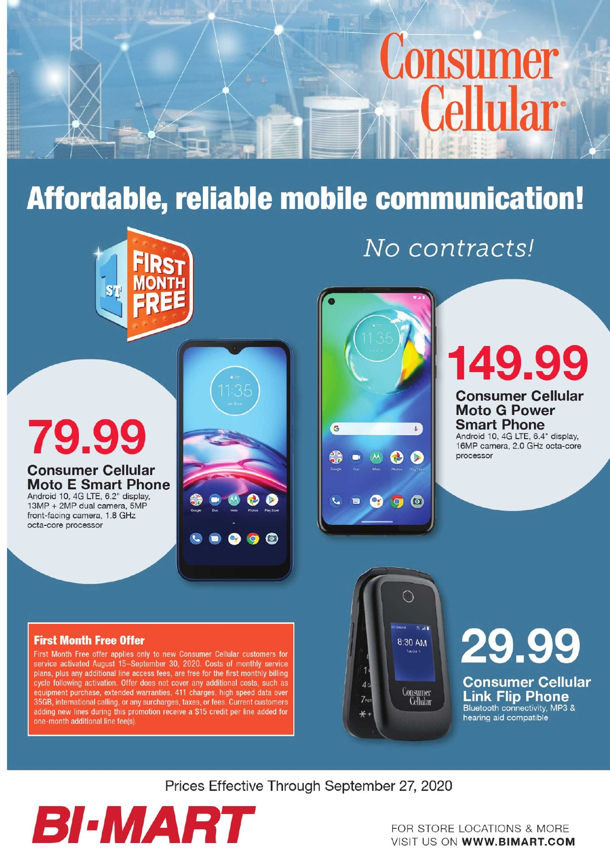 Bi-Mart - deals are valid from 09/23/20 to 09/27/20 - page 3.