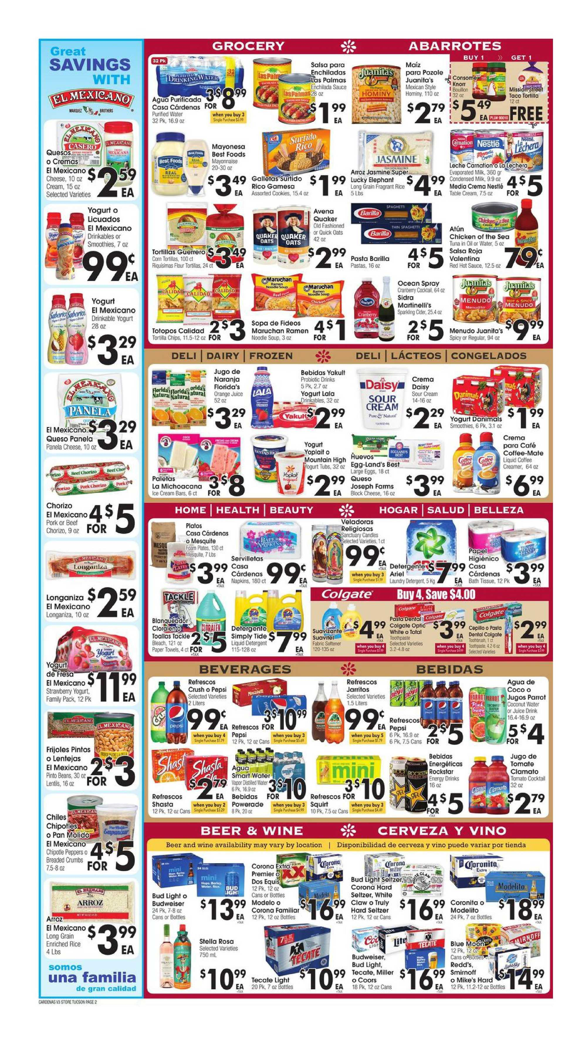 Cardenas - deals are valid from 10/21/20 to 10/27/20 - page 2.