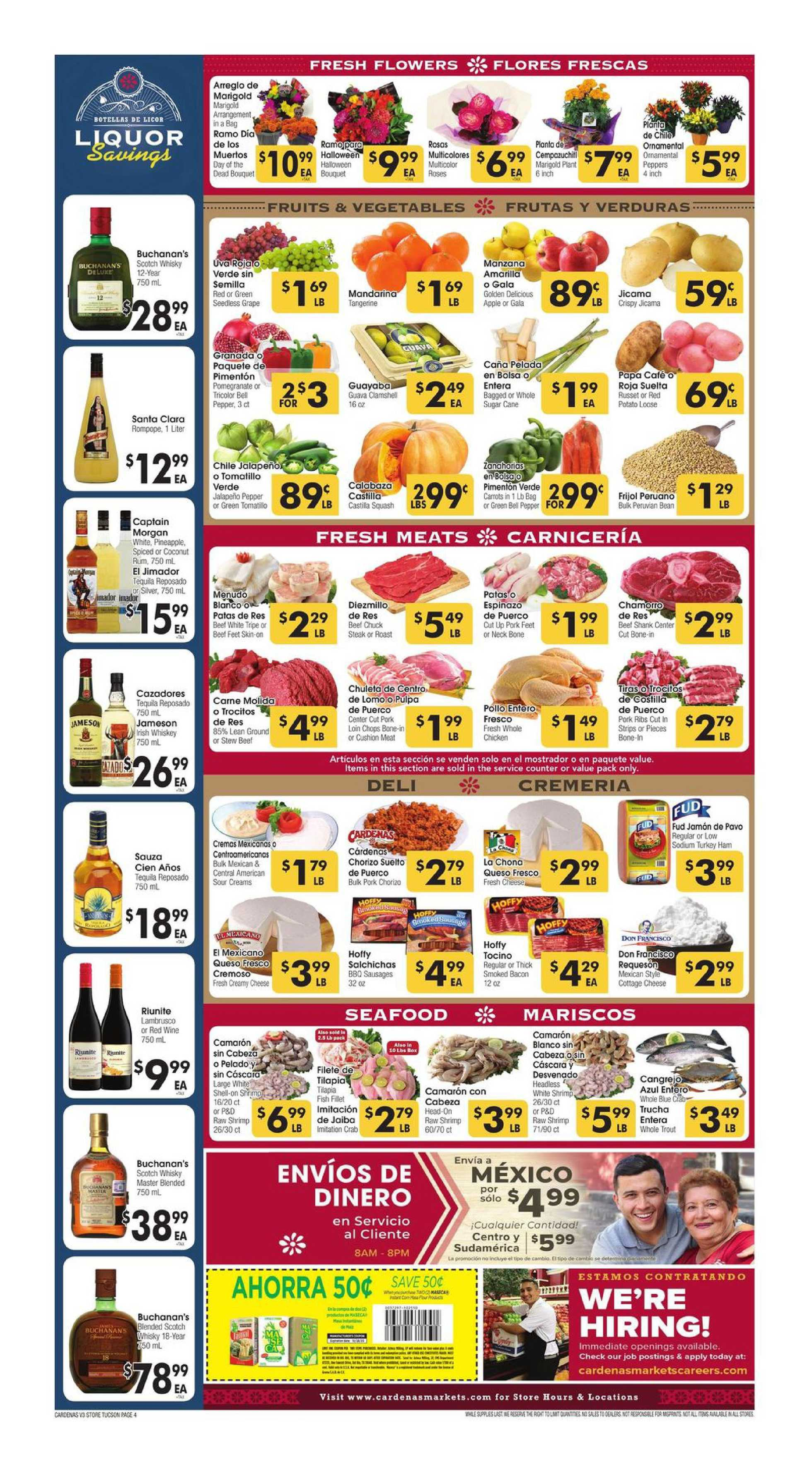 Cardenas - deals are valid from 10/21/20 to 10/27/20 - page 4.